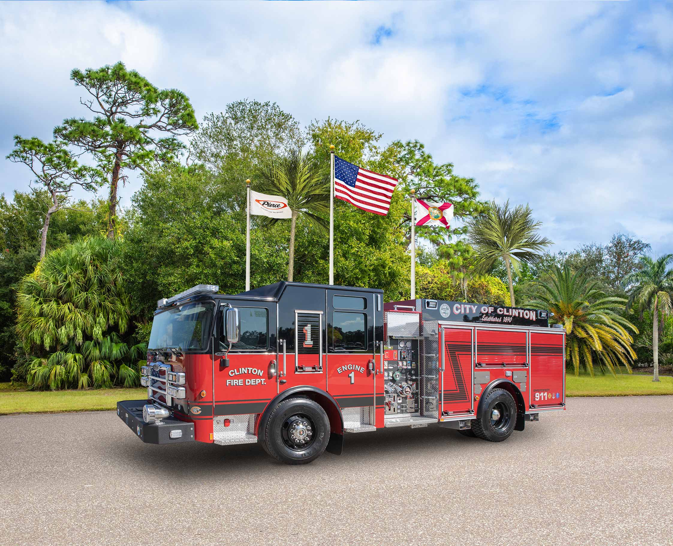 Clinton Fire Department - Pumper