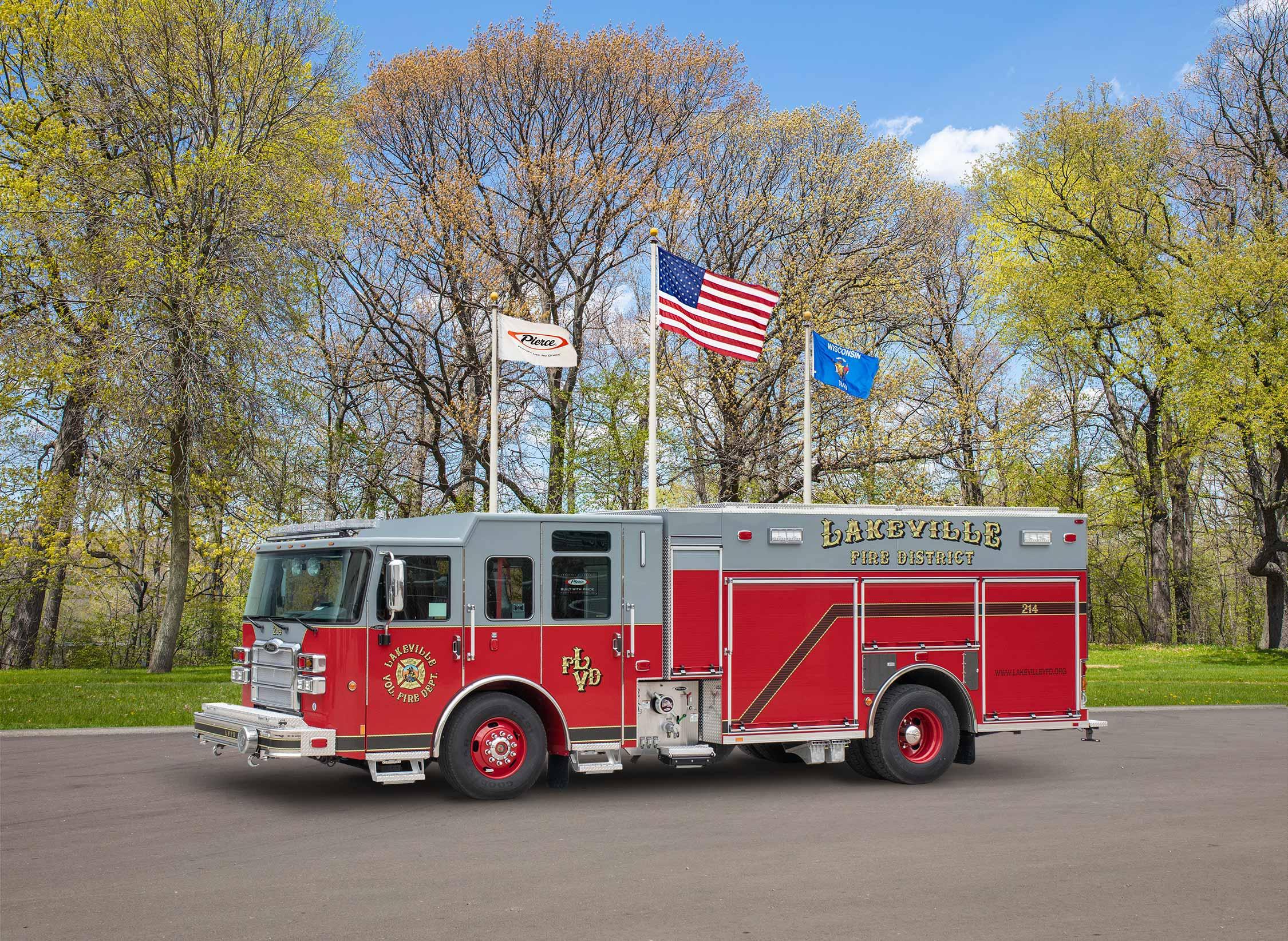 Lakeville Fire District - Pumper
