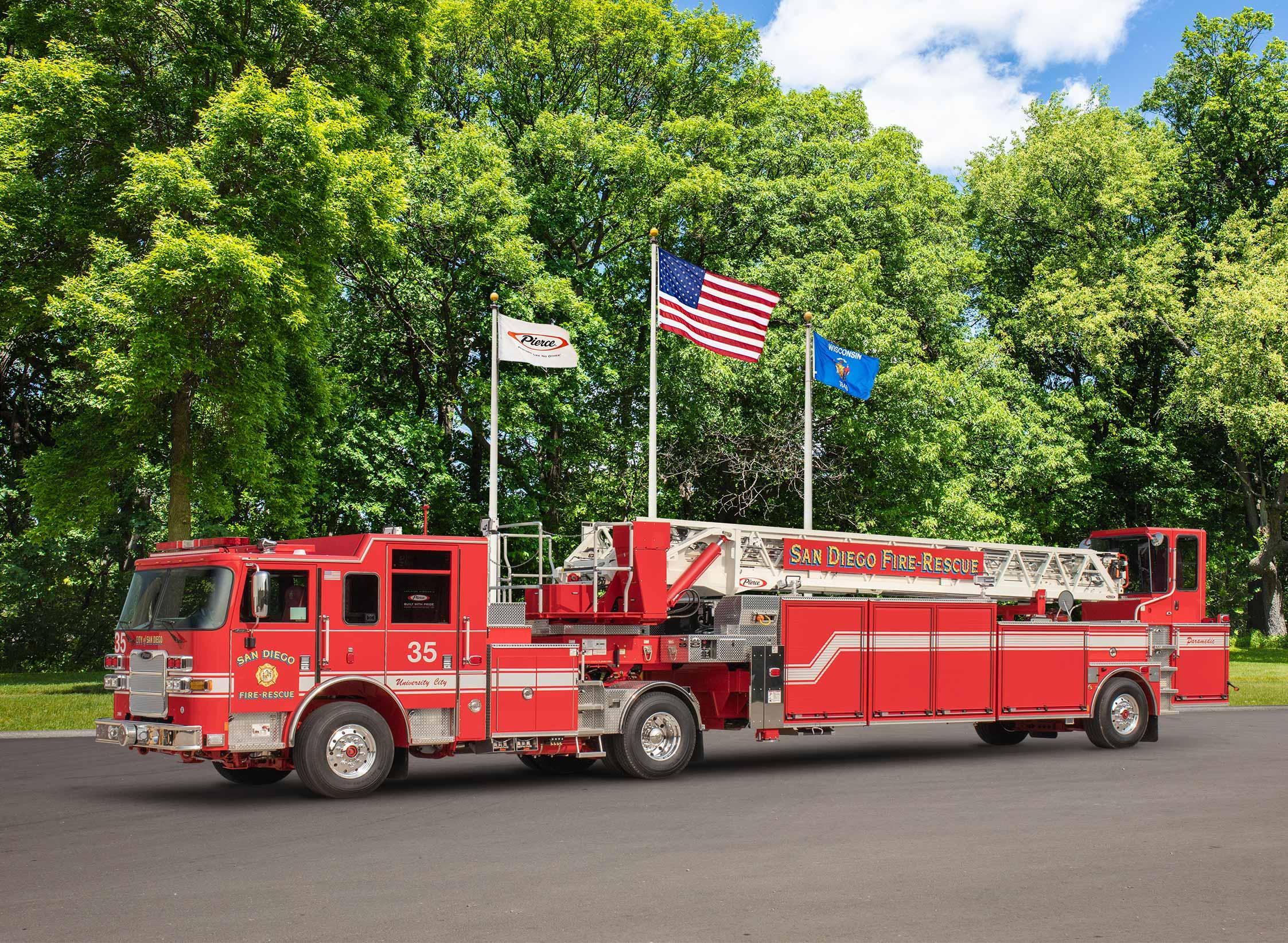 San Diego Fire-Rescue - Aerial