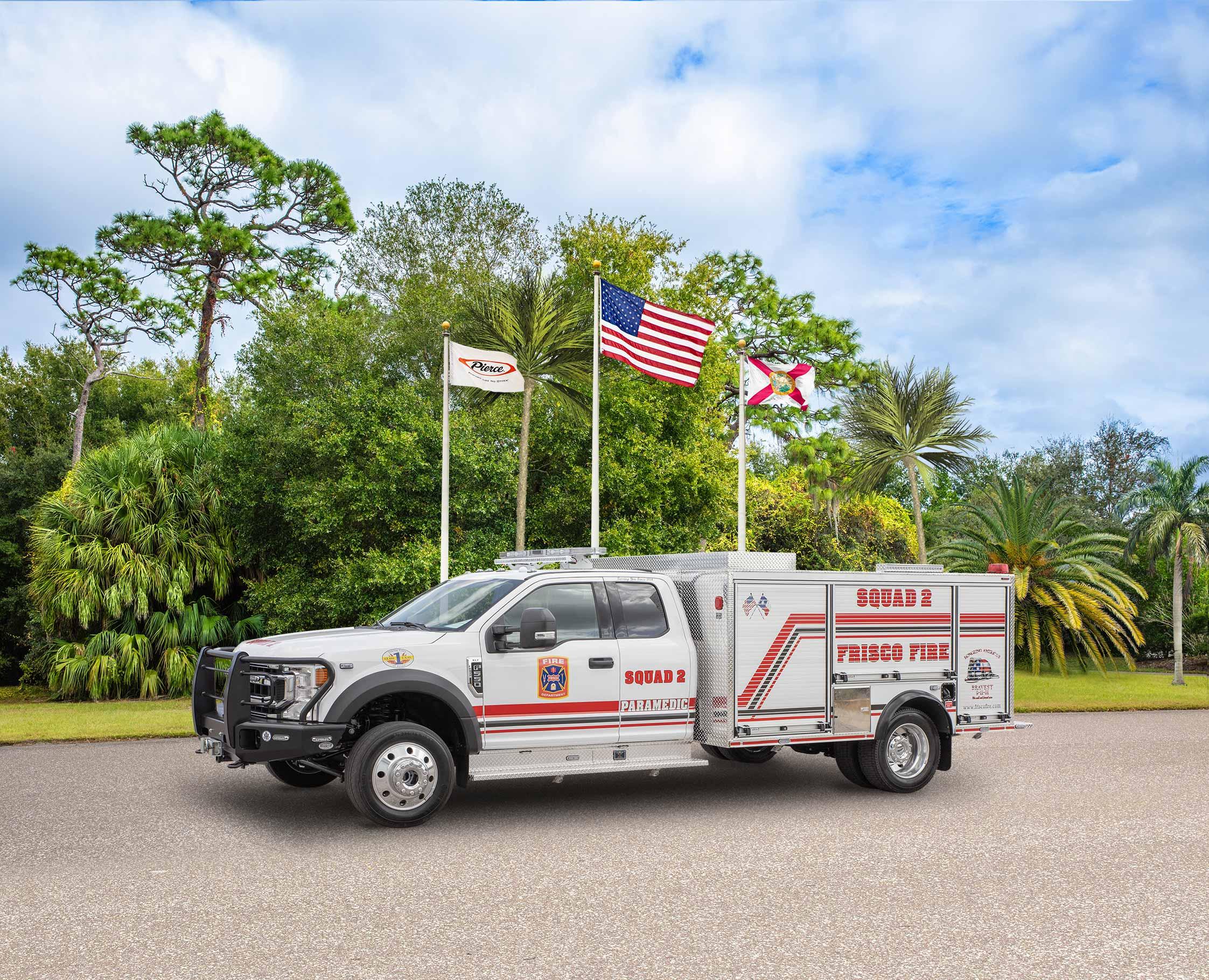 Frisco Fire Department - Pumper