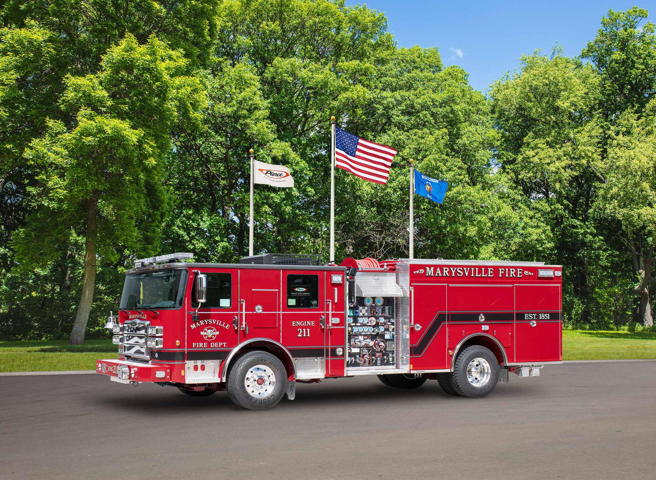 Marysville Fire Department - Pumper