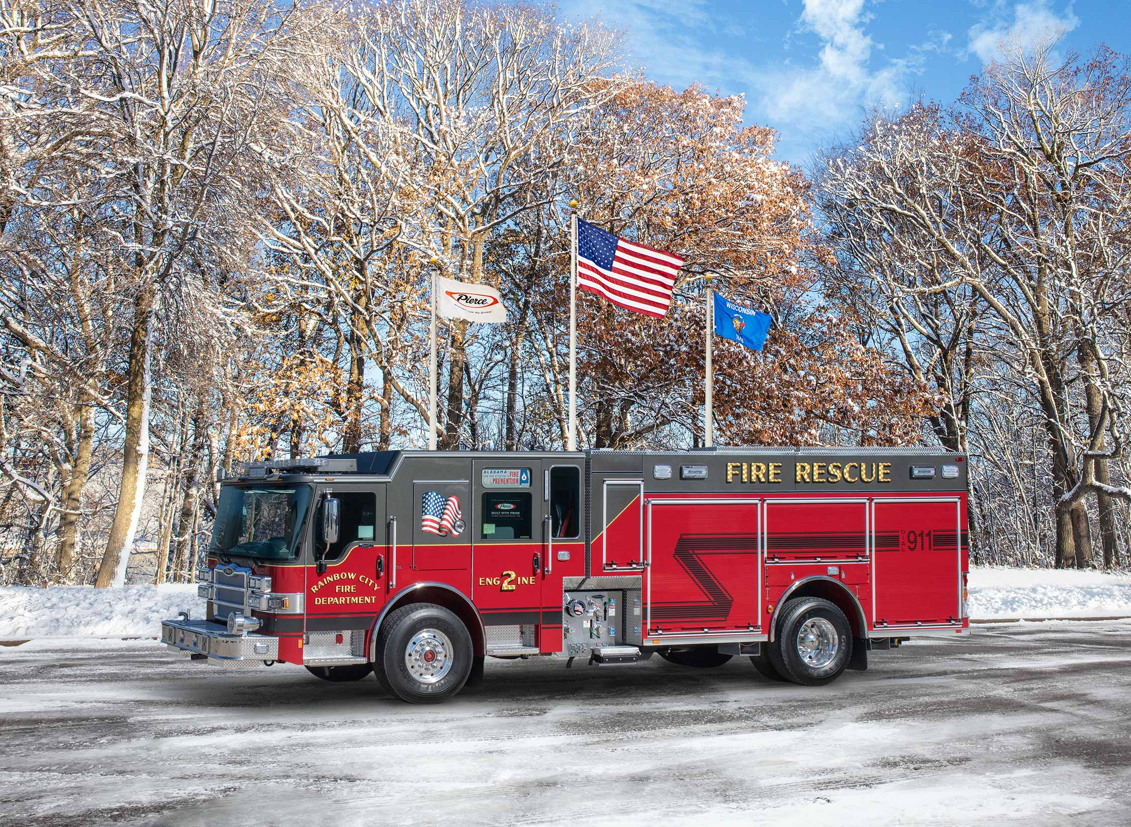 Rainbow City Fire Department - Pumper