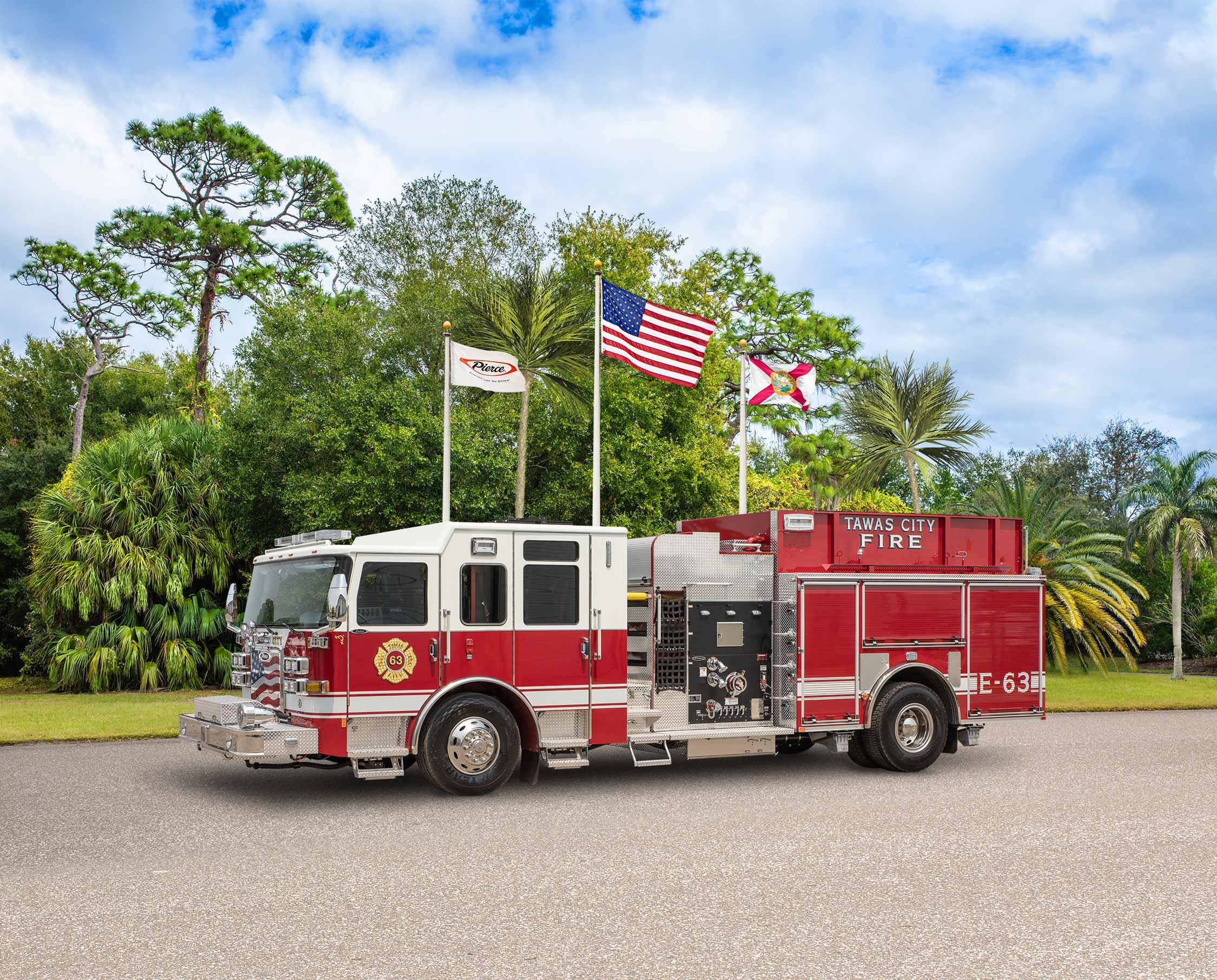 Tawas City Fire Department - Pumper