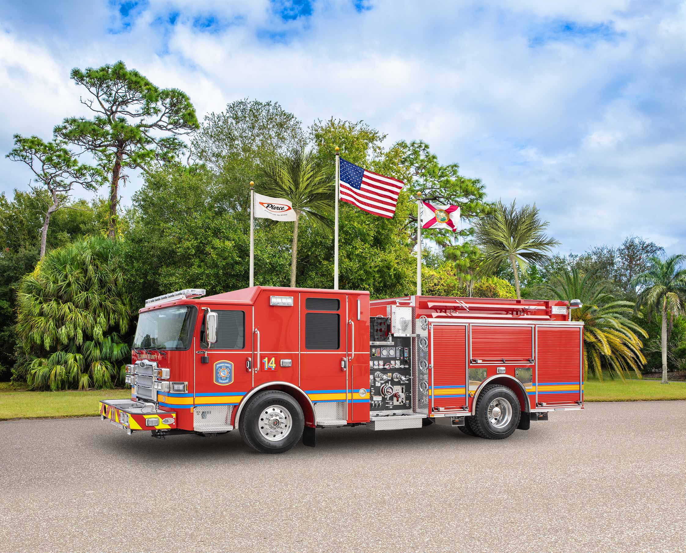 Escambia County Fire Rescue - Pumper