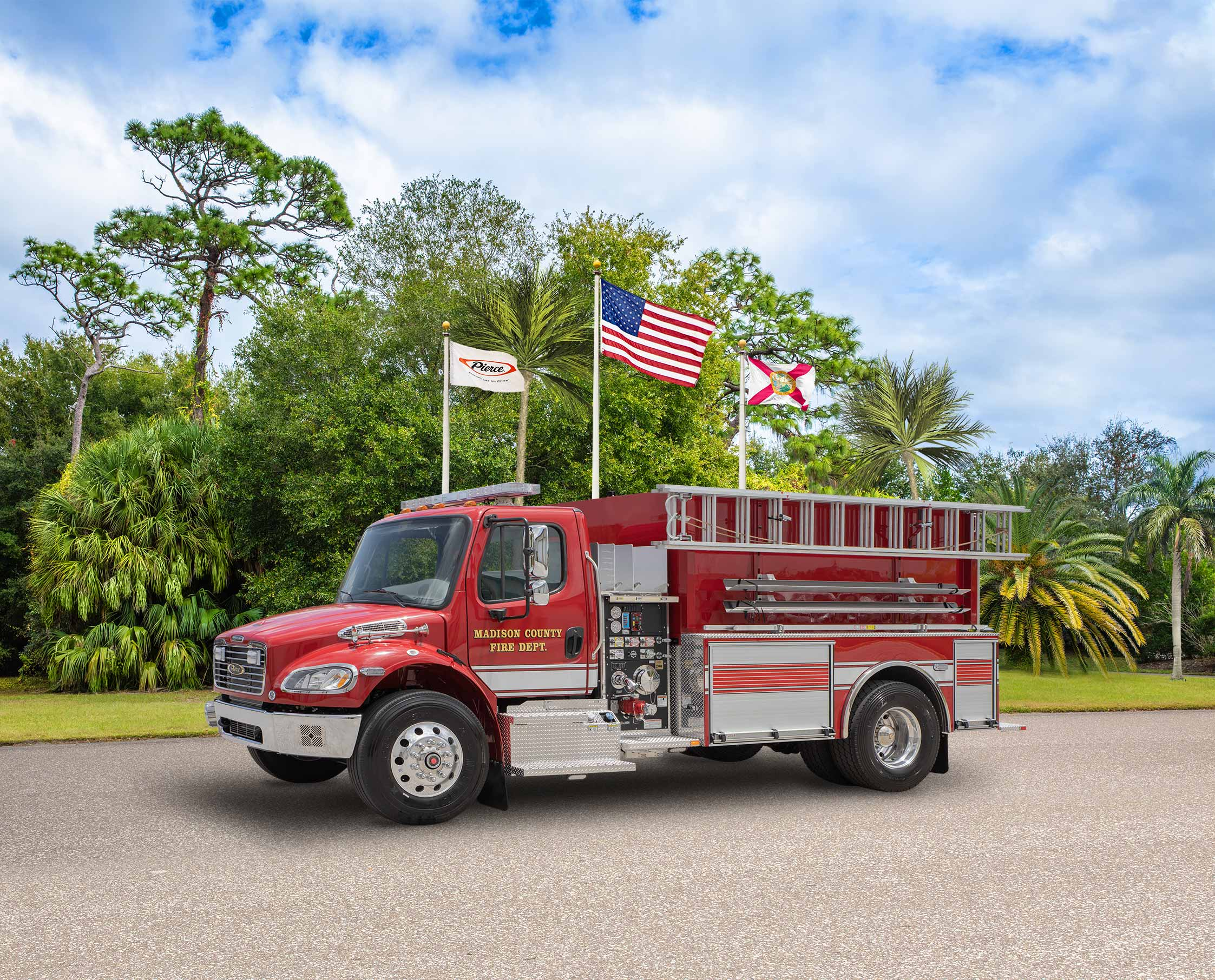 Madison County Fire Department - Tanker