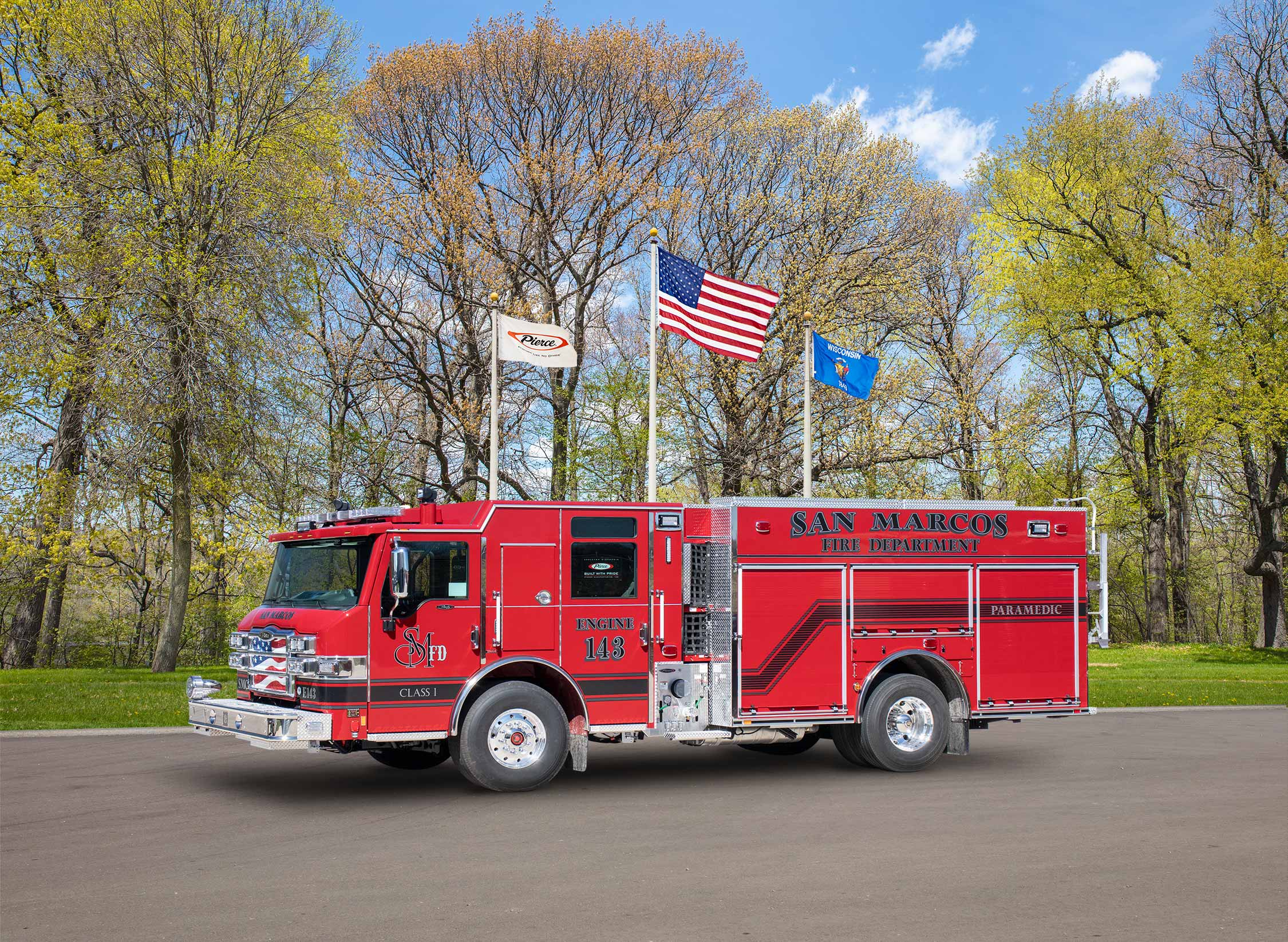 San Marcos Fire Department - Pumper