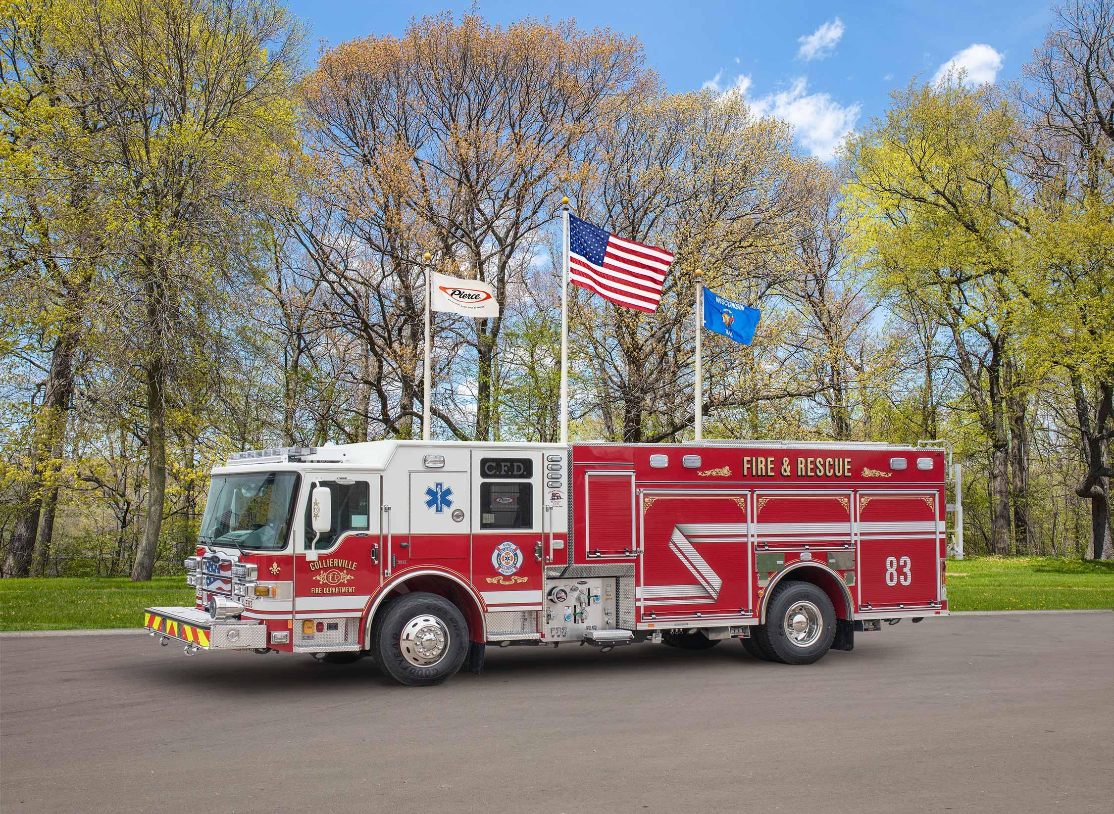 Collierville Fire Department - Pumper
