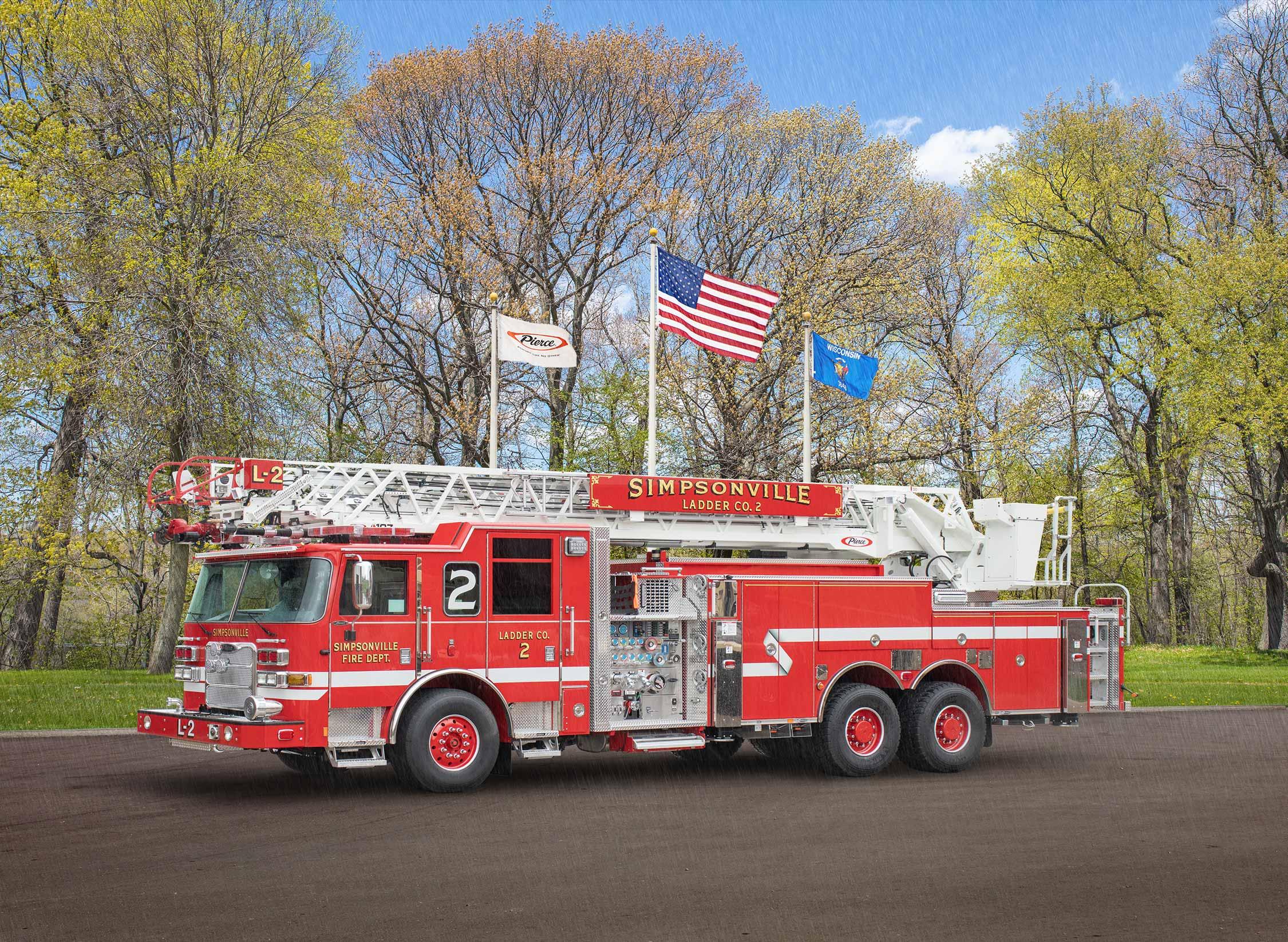 Simpsonville Fire Department - Aerial