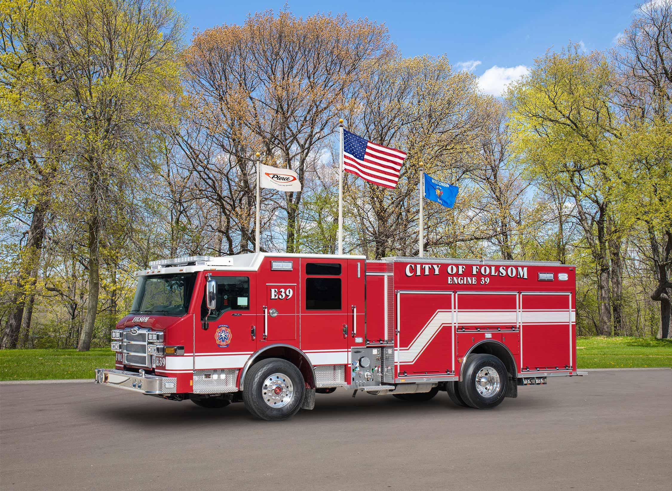 Folsom Fire Department - Pumper