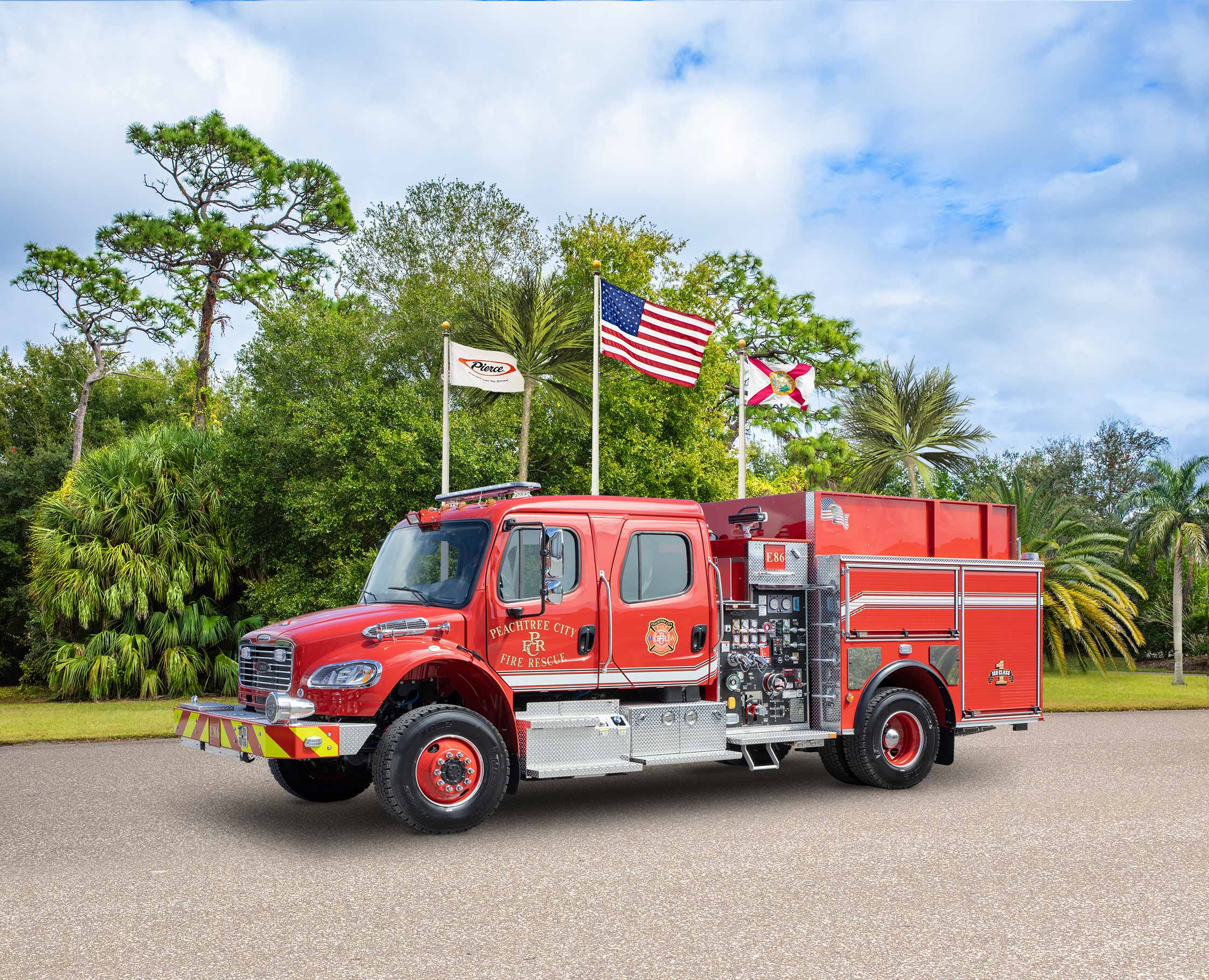 Peachtree City Fire Department - Pumper