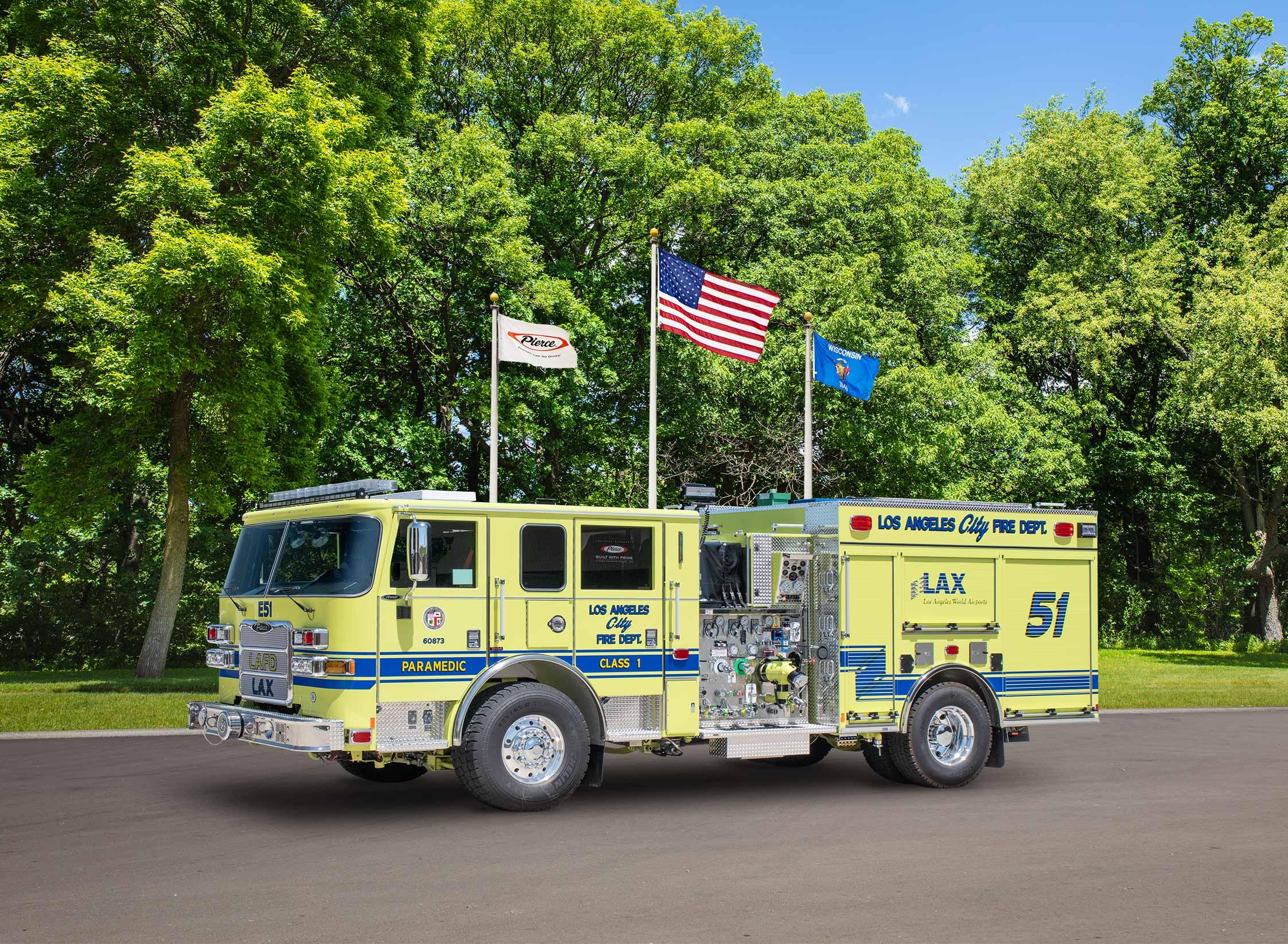 Los Angeles City Fire Department - Pumper