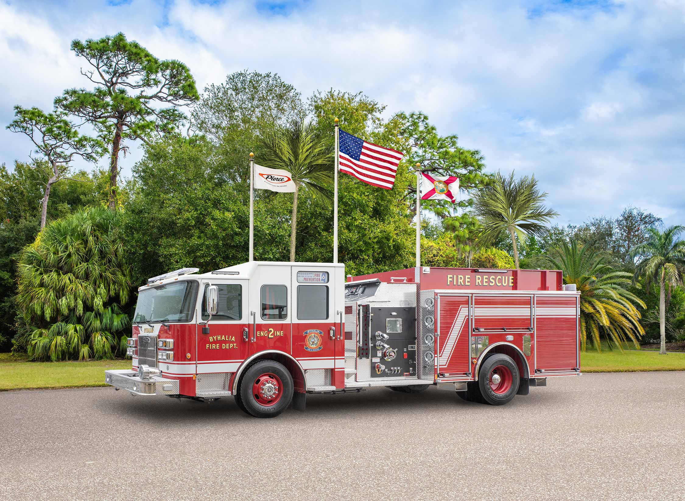 Byhalia Fire Department - Pumper