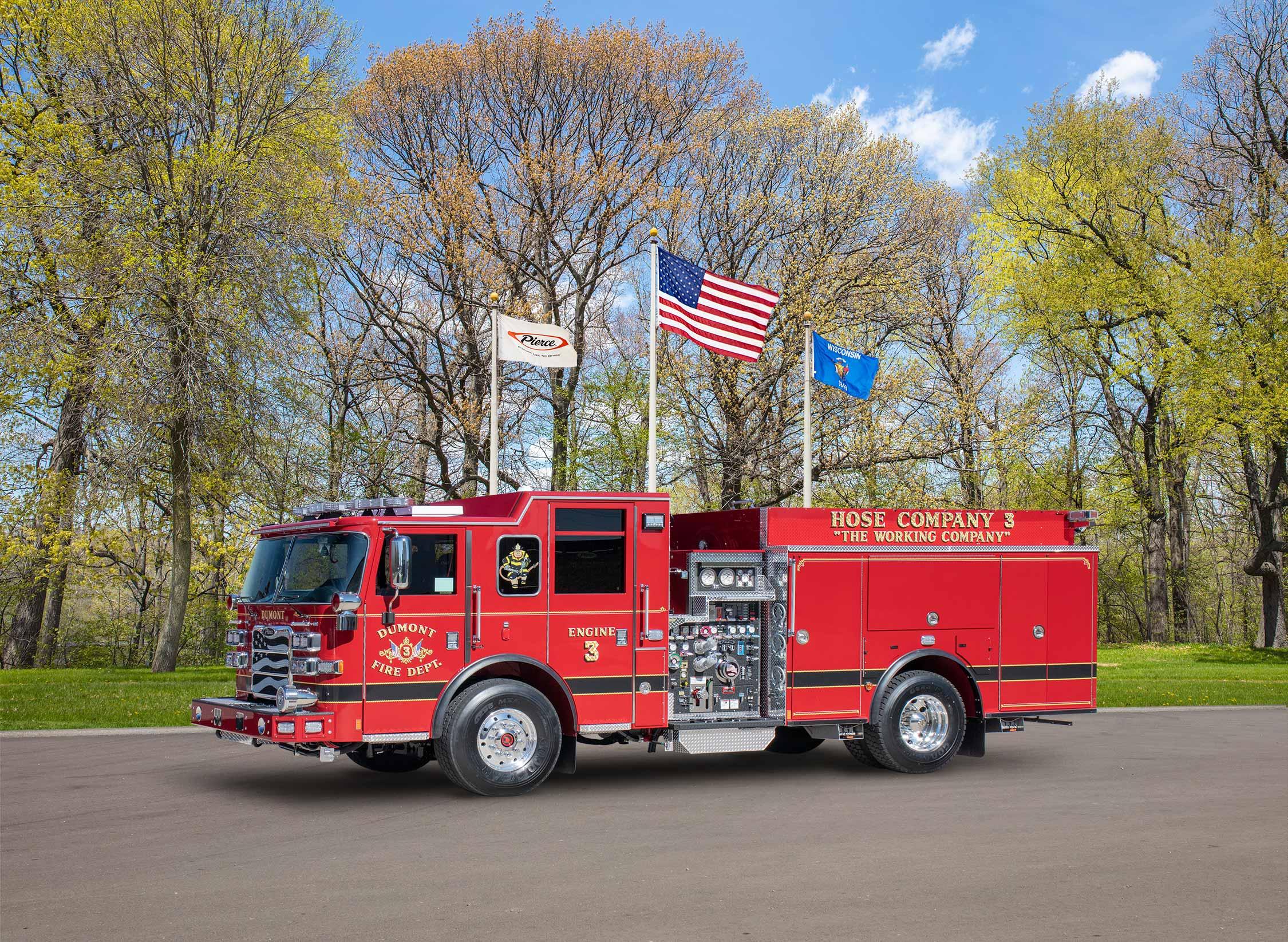 Dumont Fire Department - Pumper