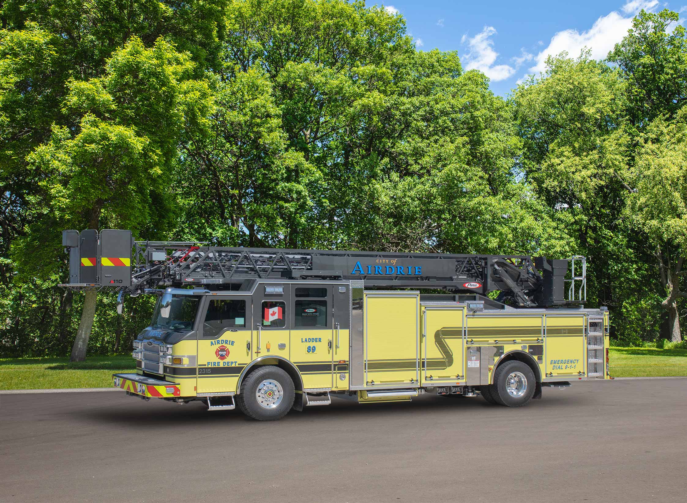 Airdrie Fire Department - Aerial