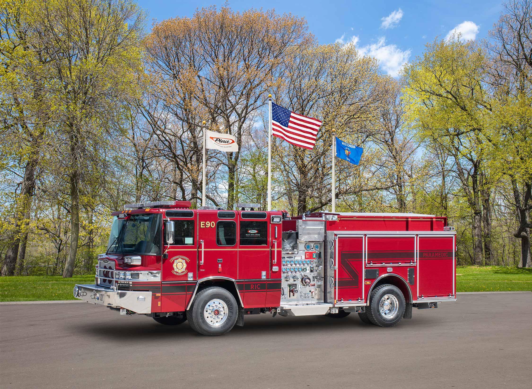 Livermore-Pleasanton Fire Department - Pumper