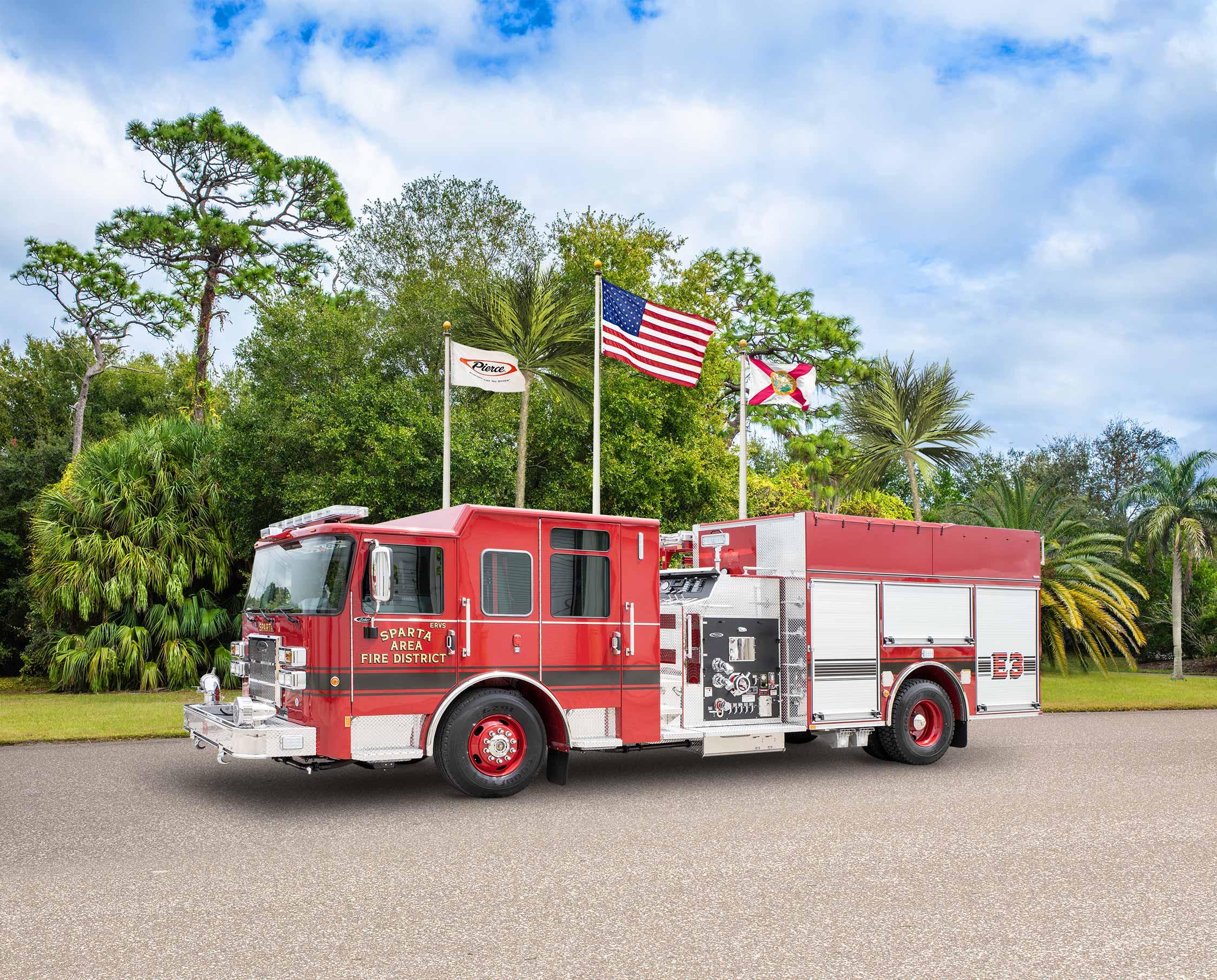 Sparta Area Fire District - Pumper