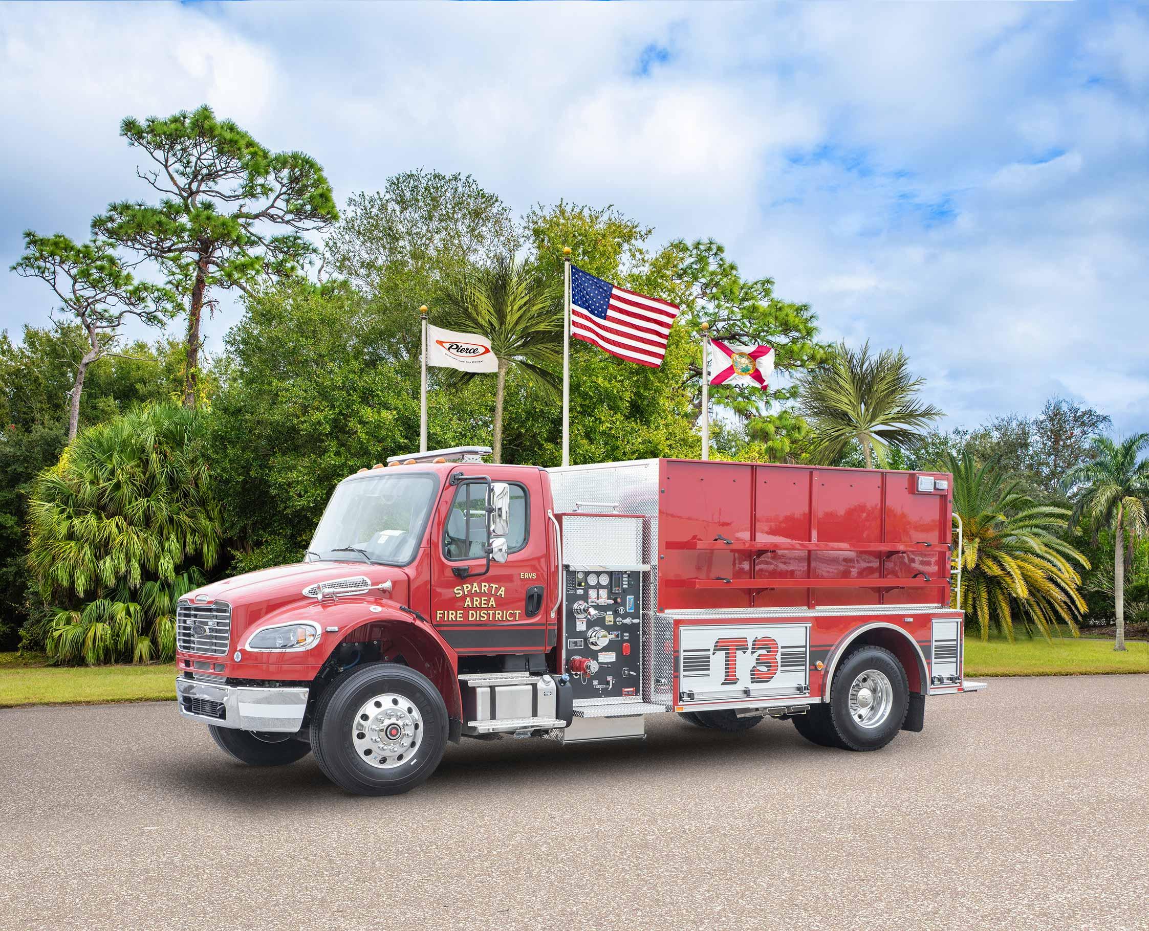 Sparta Area Fire District - Tanker