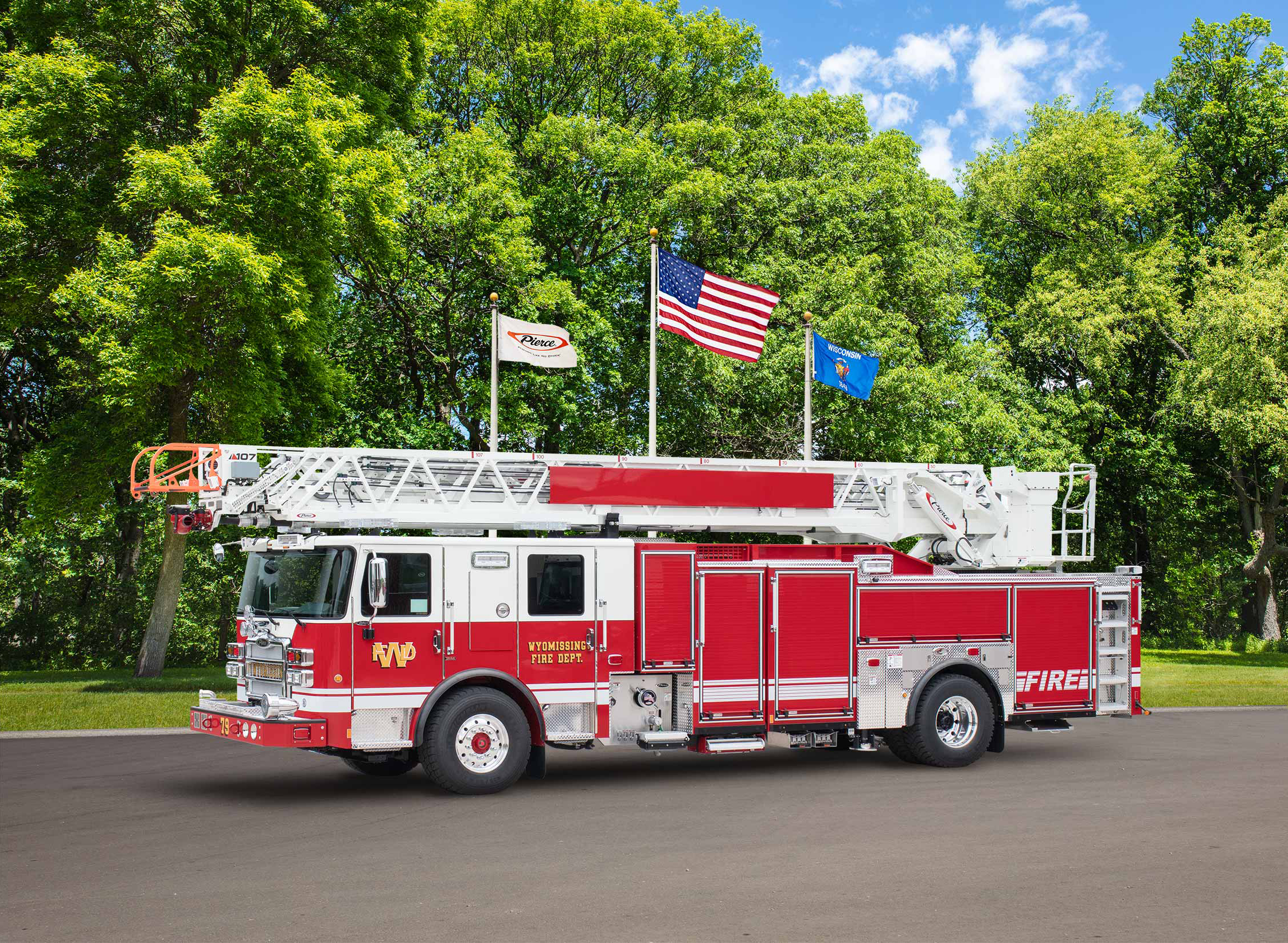 Wyomissing Fire Department - Aerial