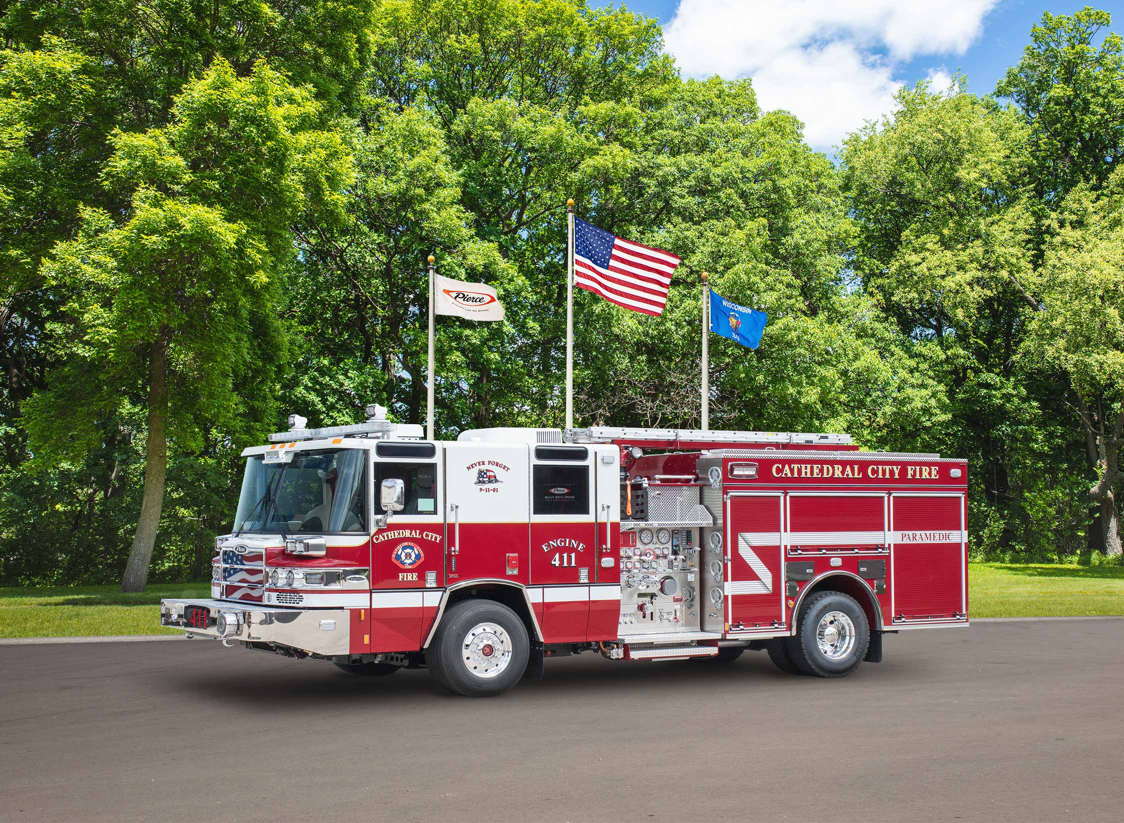 Cathedral City Fire Department - Pumper
