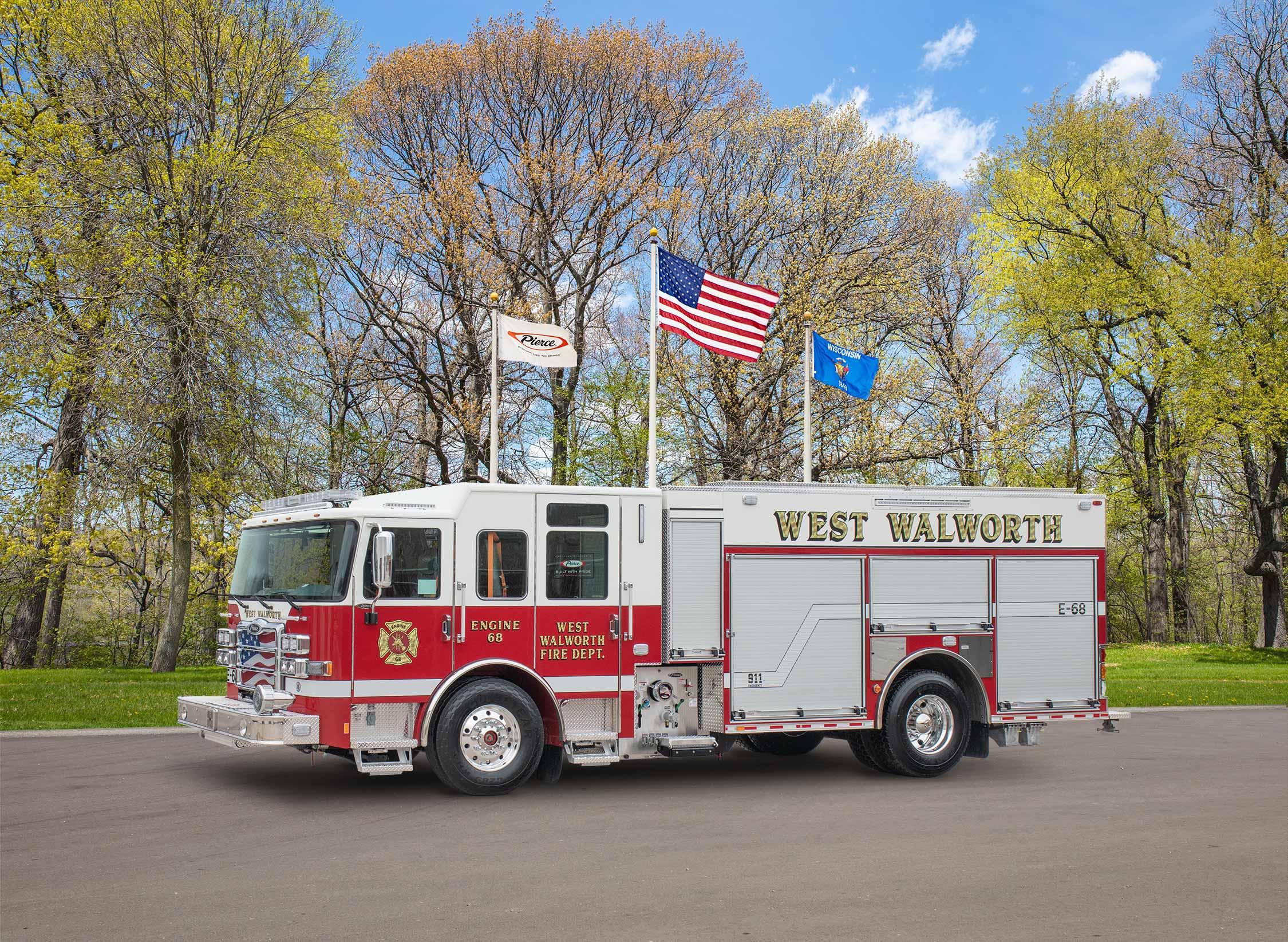 West Walworth Volunteer Fire Department - Pumper