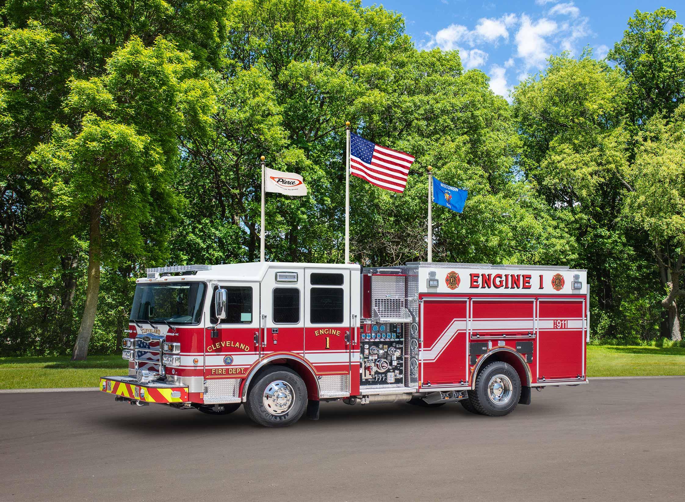 Cleveland Fire Department - Pumper