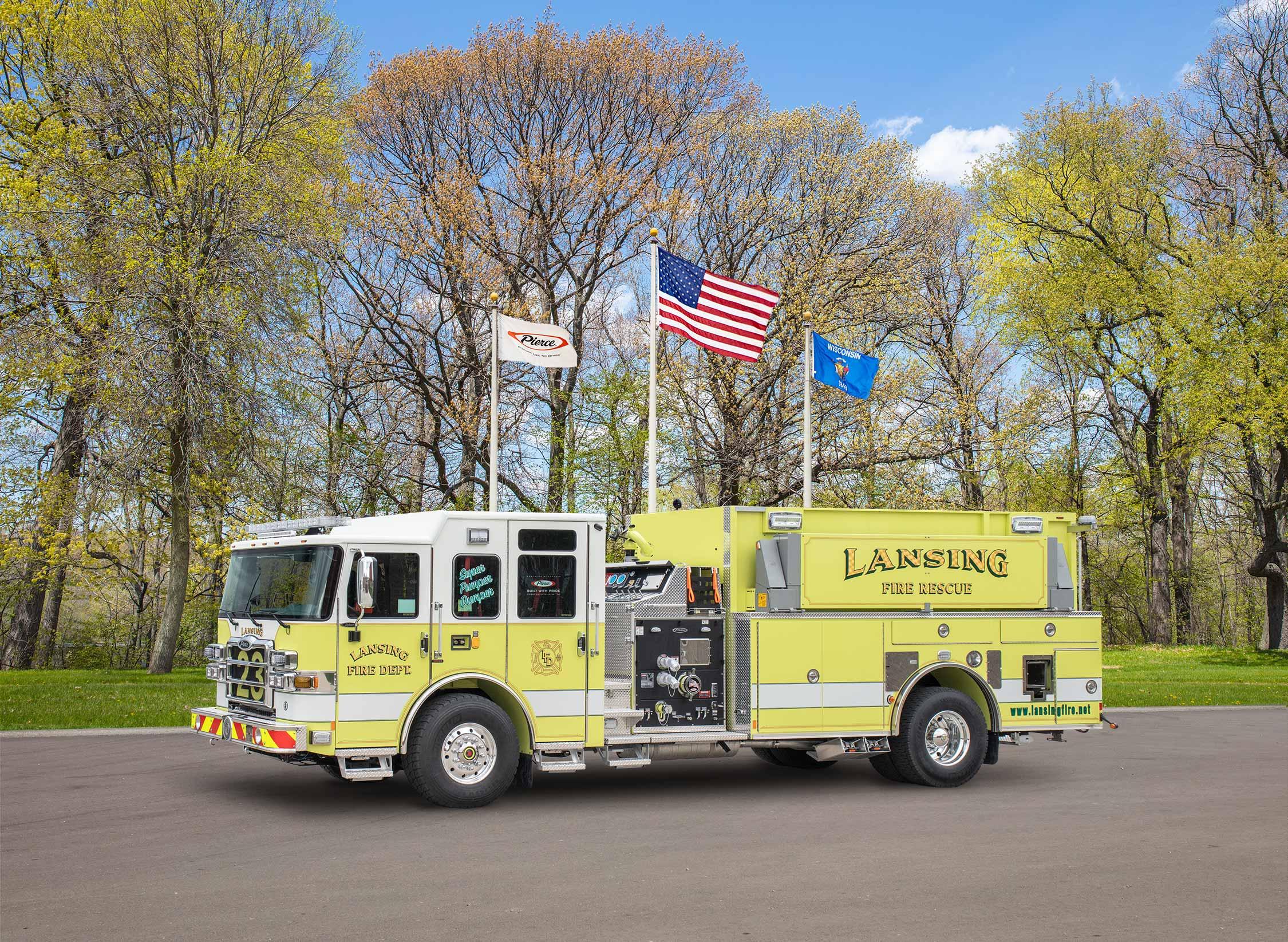 Lansing Fire District - Pumper