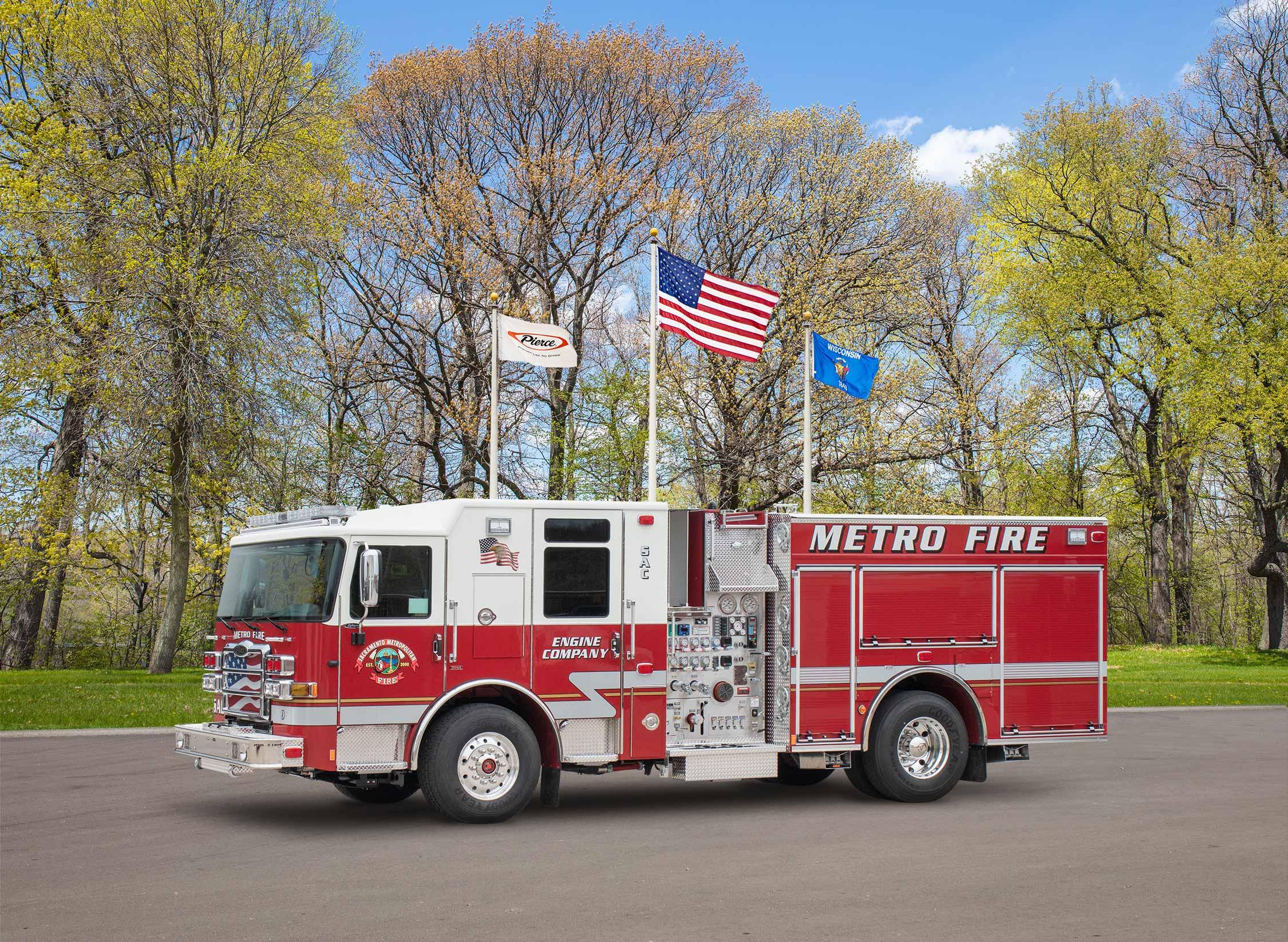 Sacramento Metropolitan Fire District - Pumper