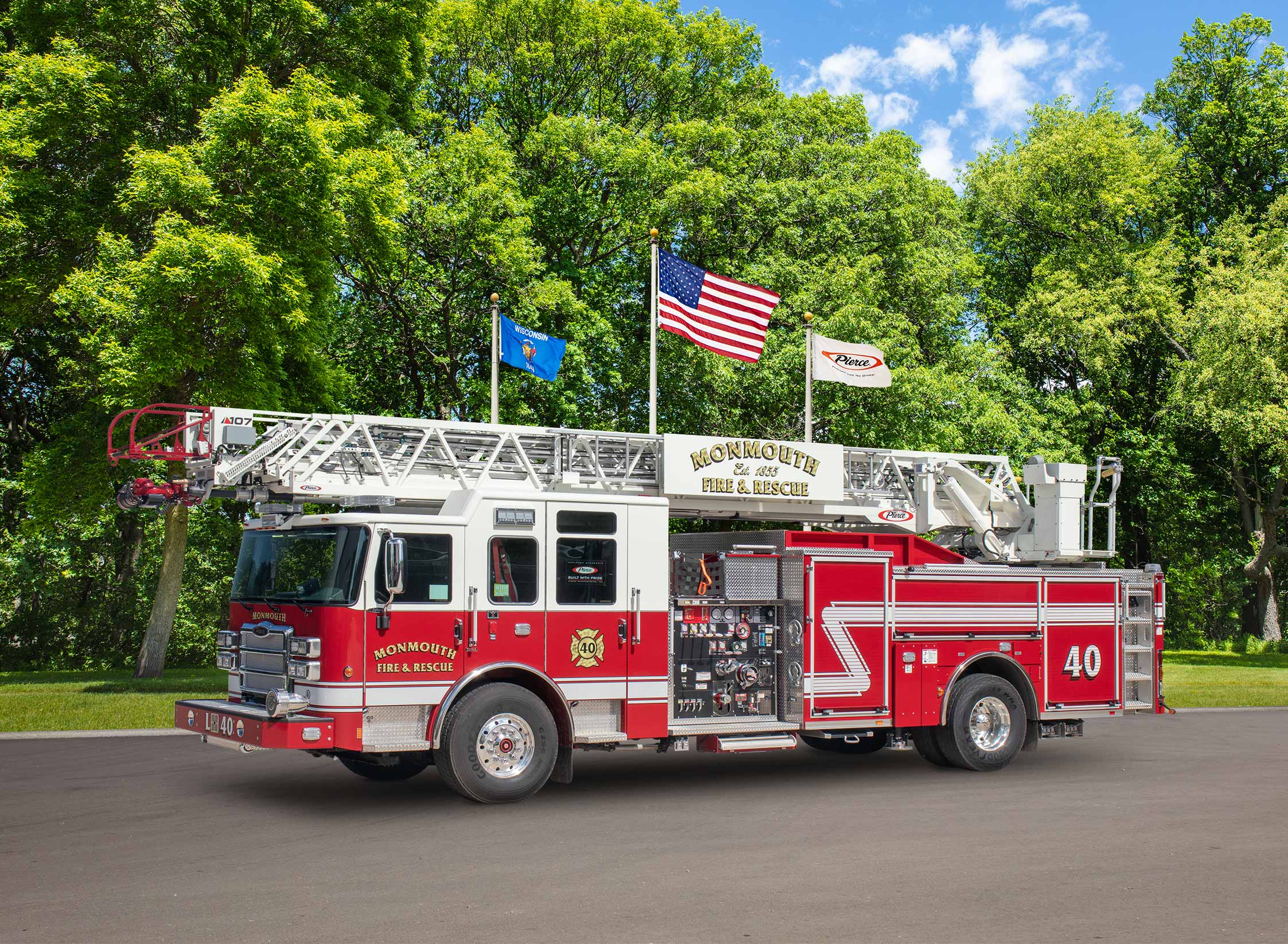 Monmouth Fire Department - Aerial