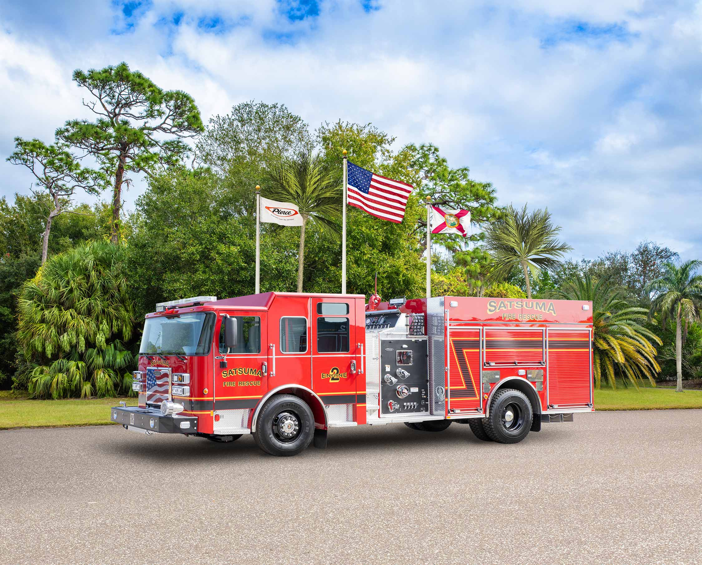 Satsuma Fire Rescue - Pumper