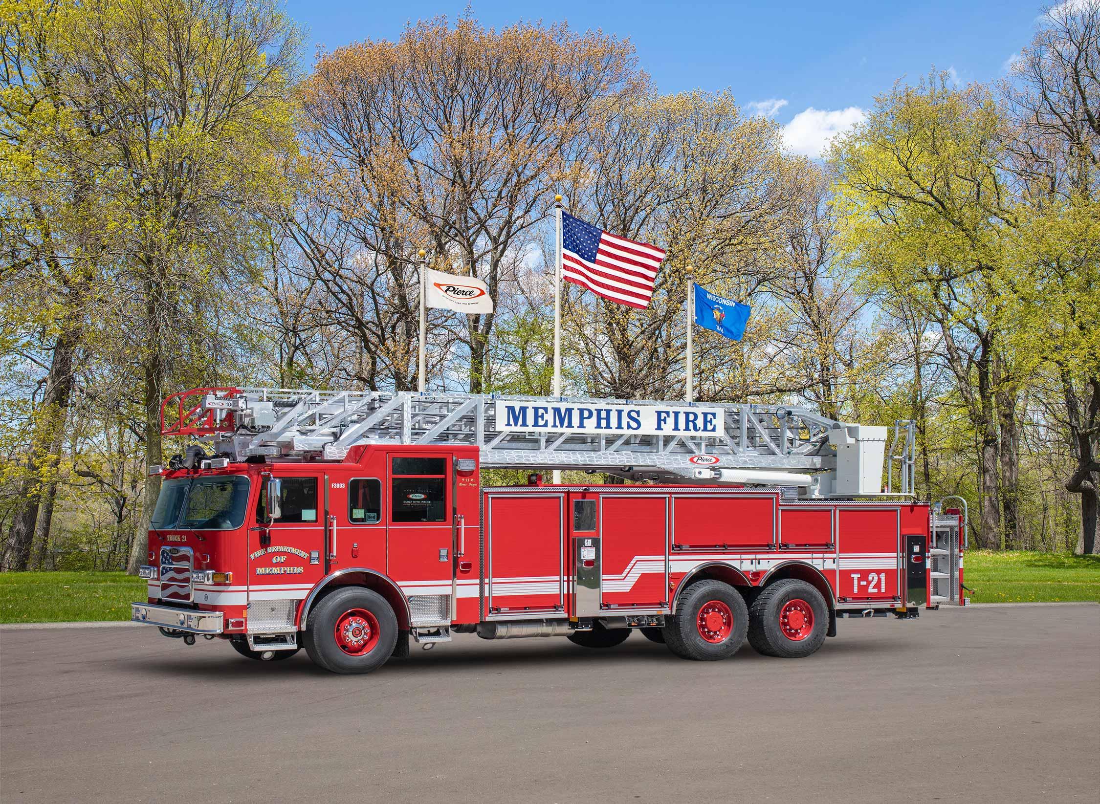 Fire Department of Memphis - Aerial