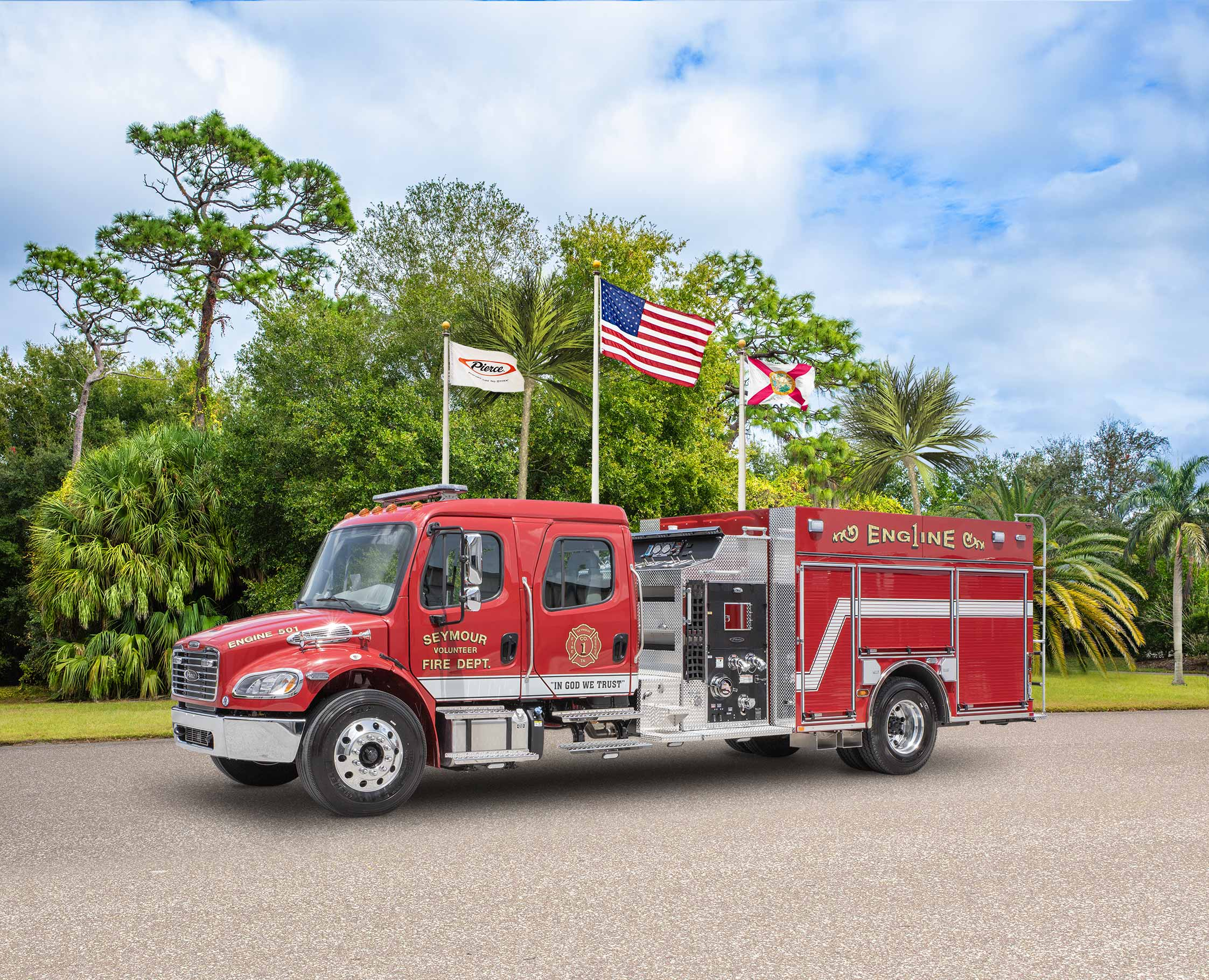 Seymour Volunteer Fire Department - Pumper