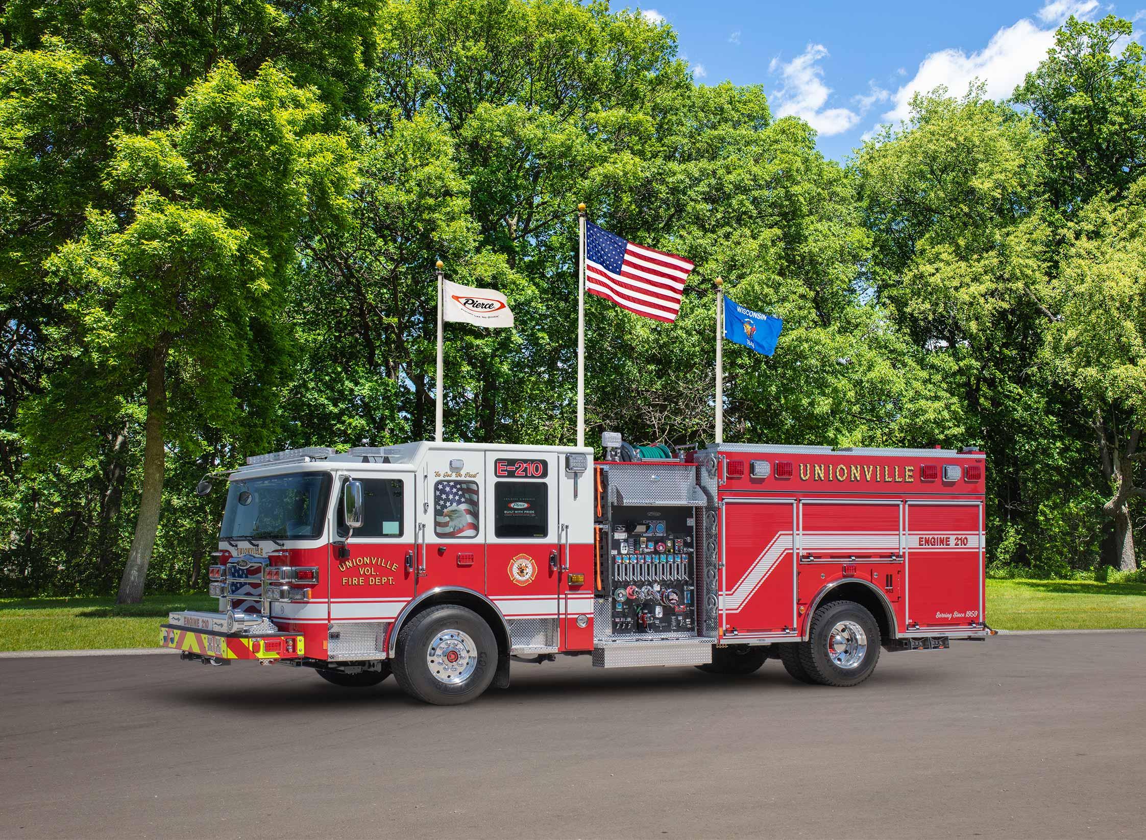 Town of Unionville Fire Department - Pumper