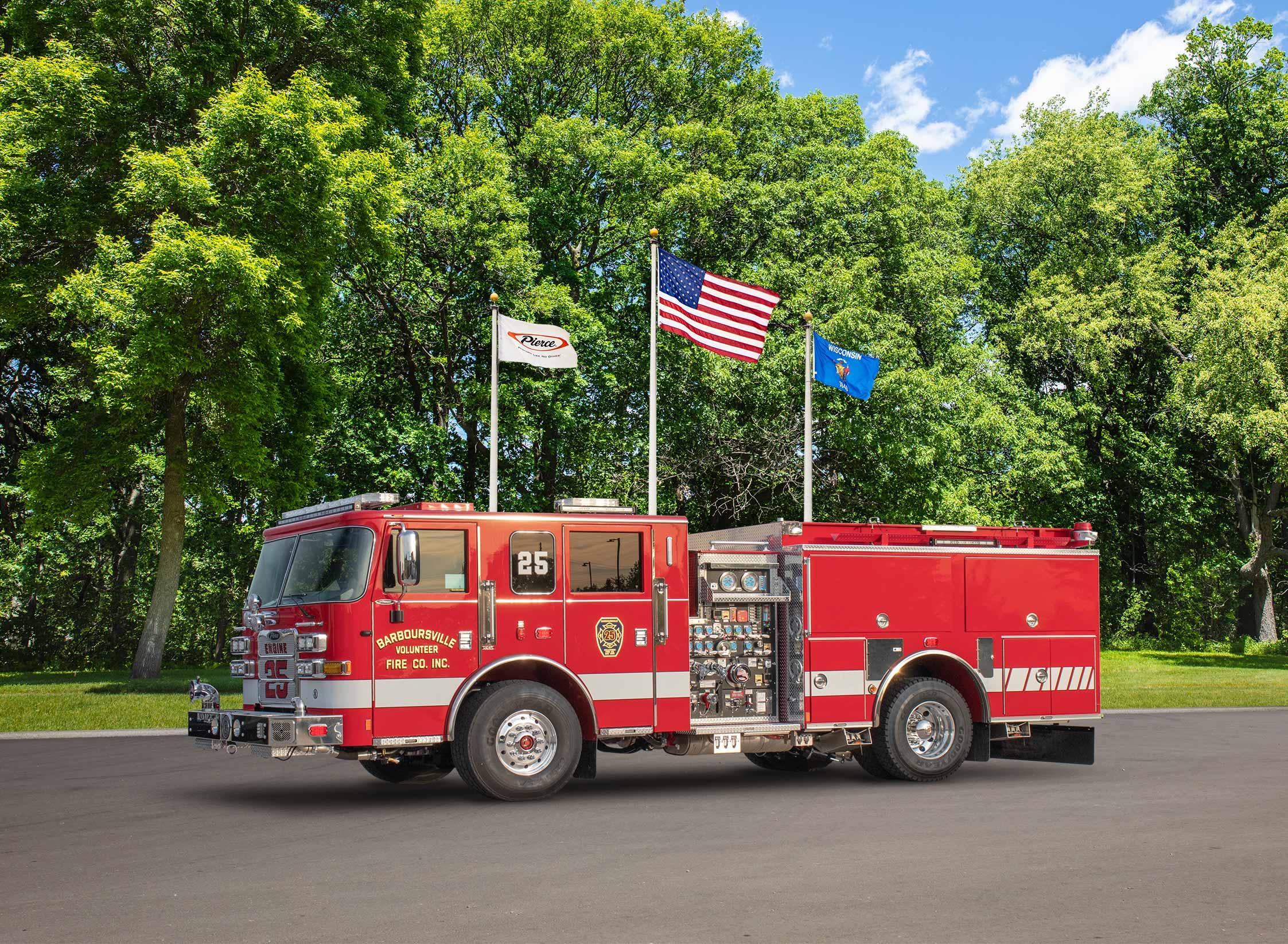 Barboursville Volunteer Fire Company - Pumper