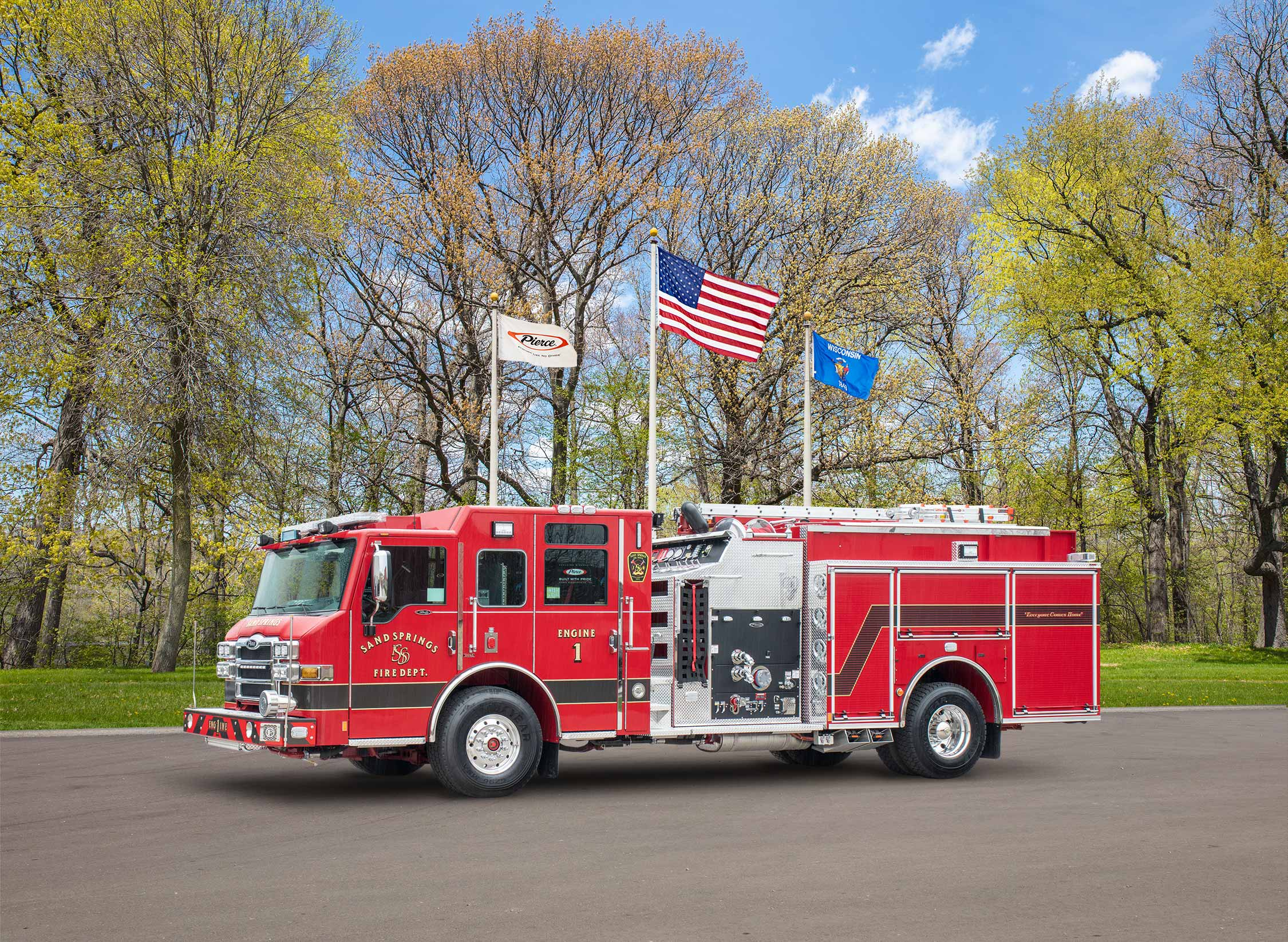 Sand Springs Fire Department - Pumper