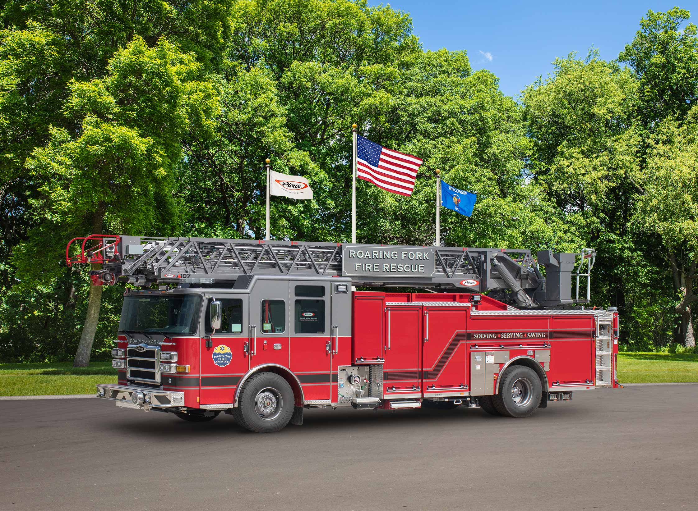 Roaring Fork Fire Rescue Authority - Aerial