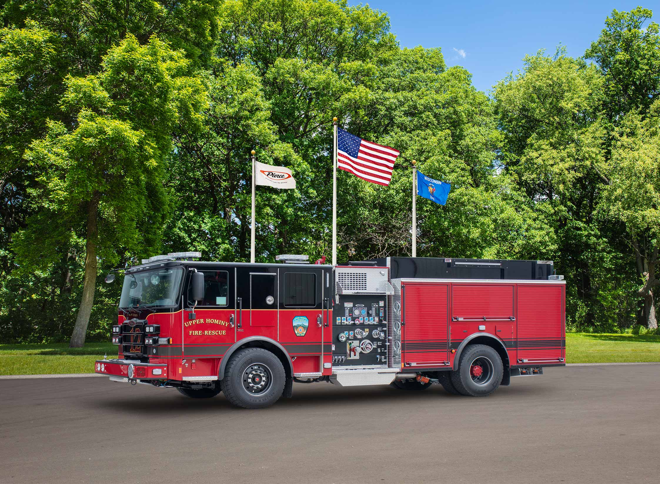 Upper Hominy Volunteer Fire & Rescue, Inc - Pumper