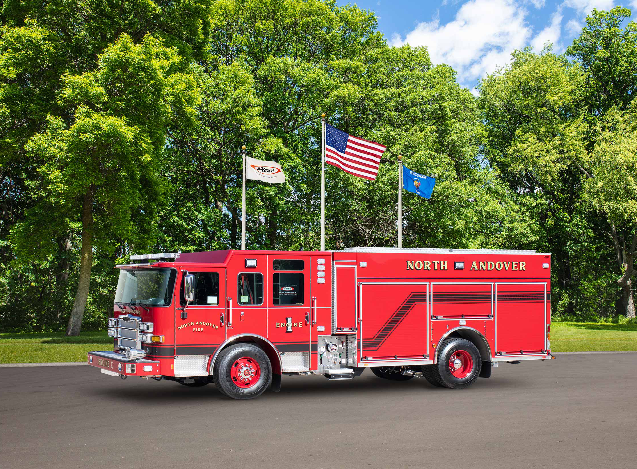 North Andover Fire Department - Pumper