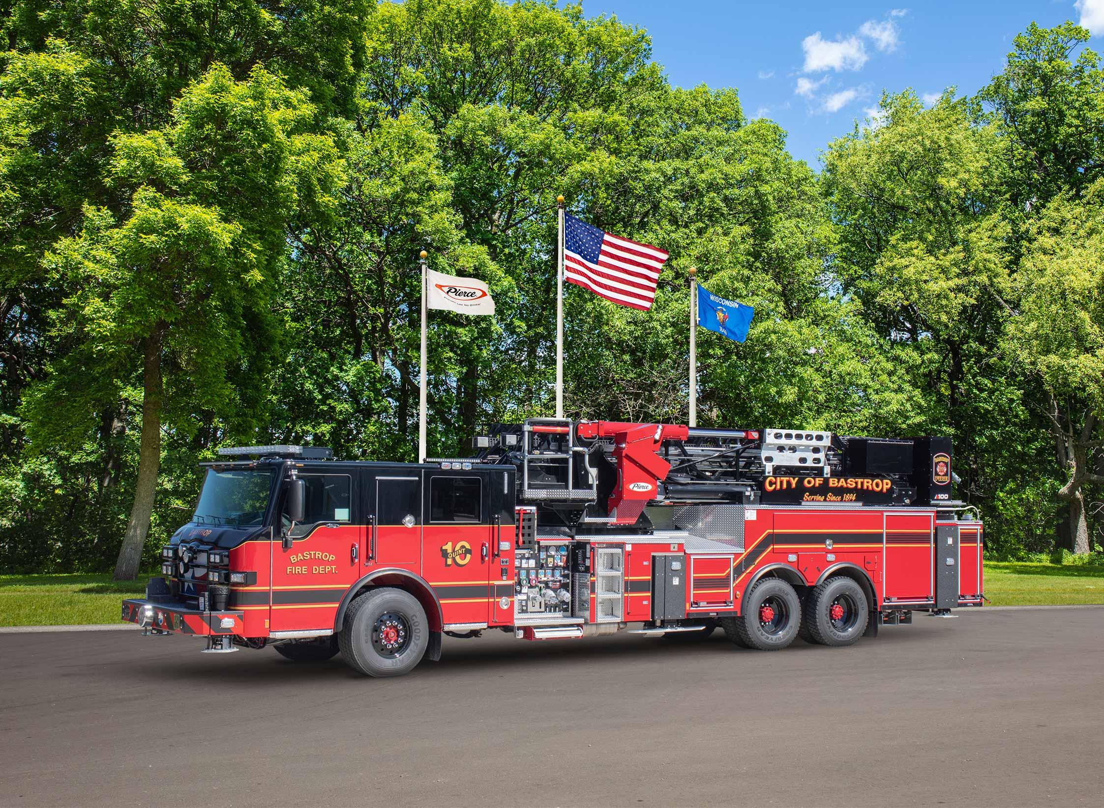 Bastrop Fire Department - Aerial