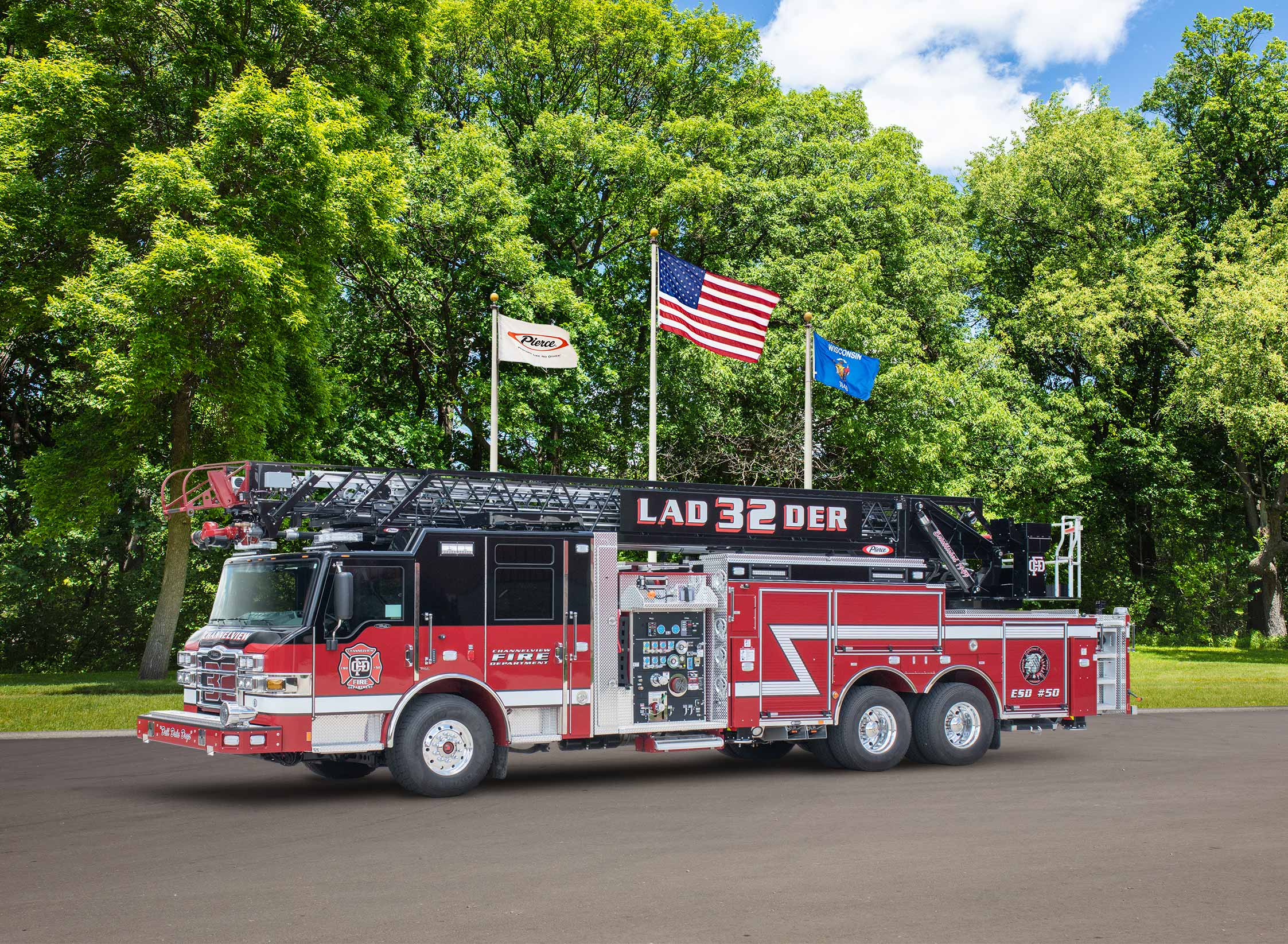 Channelview Fire Department - Aerial
