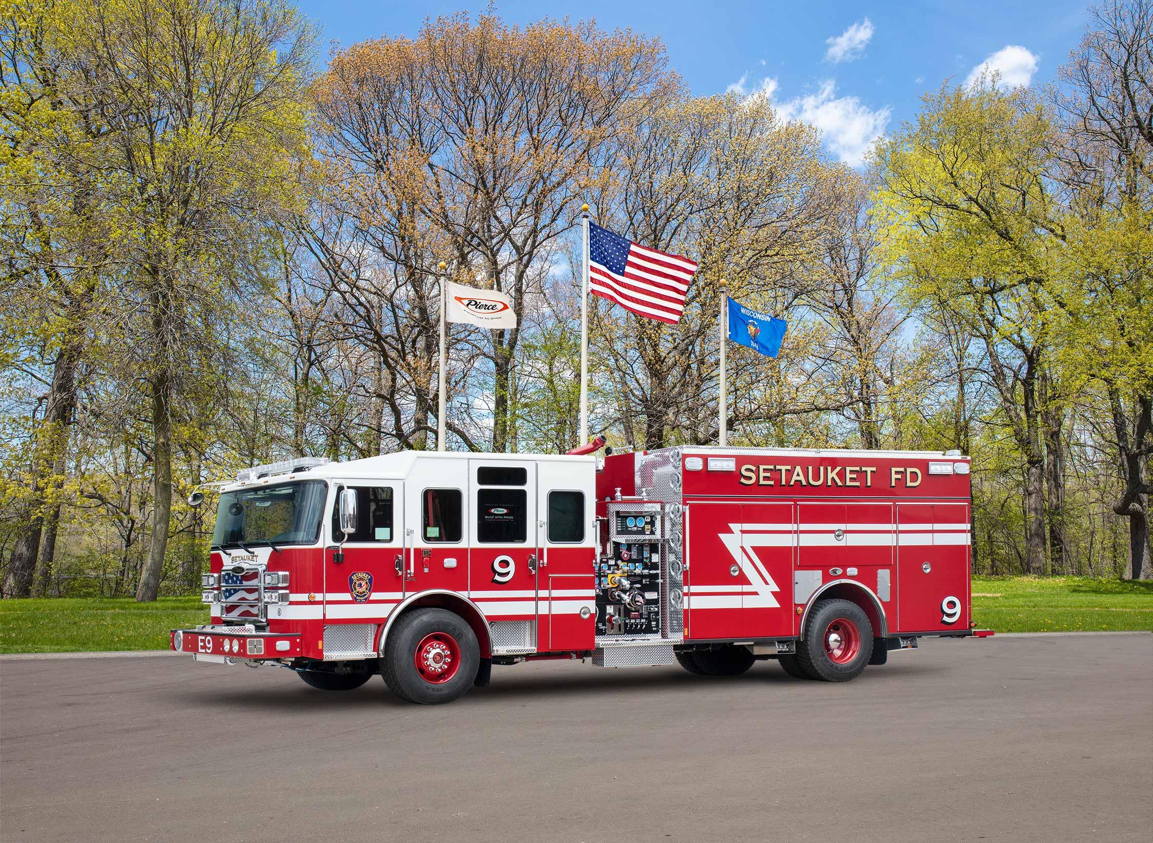 Setauket Fire Department - Pumper