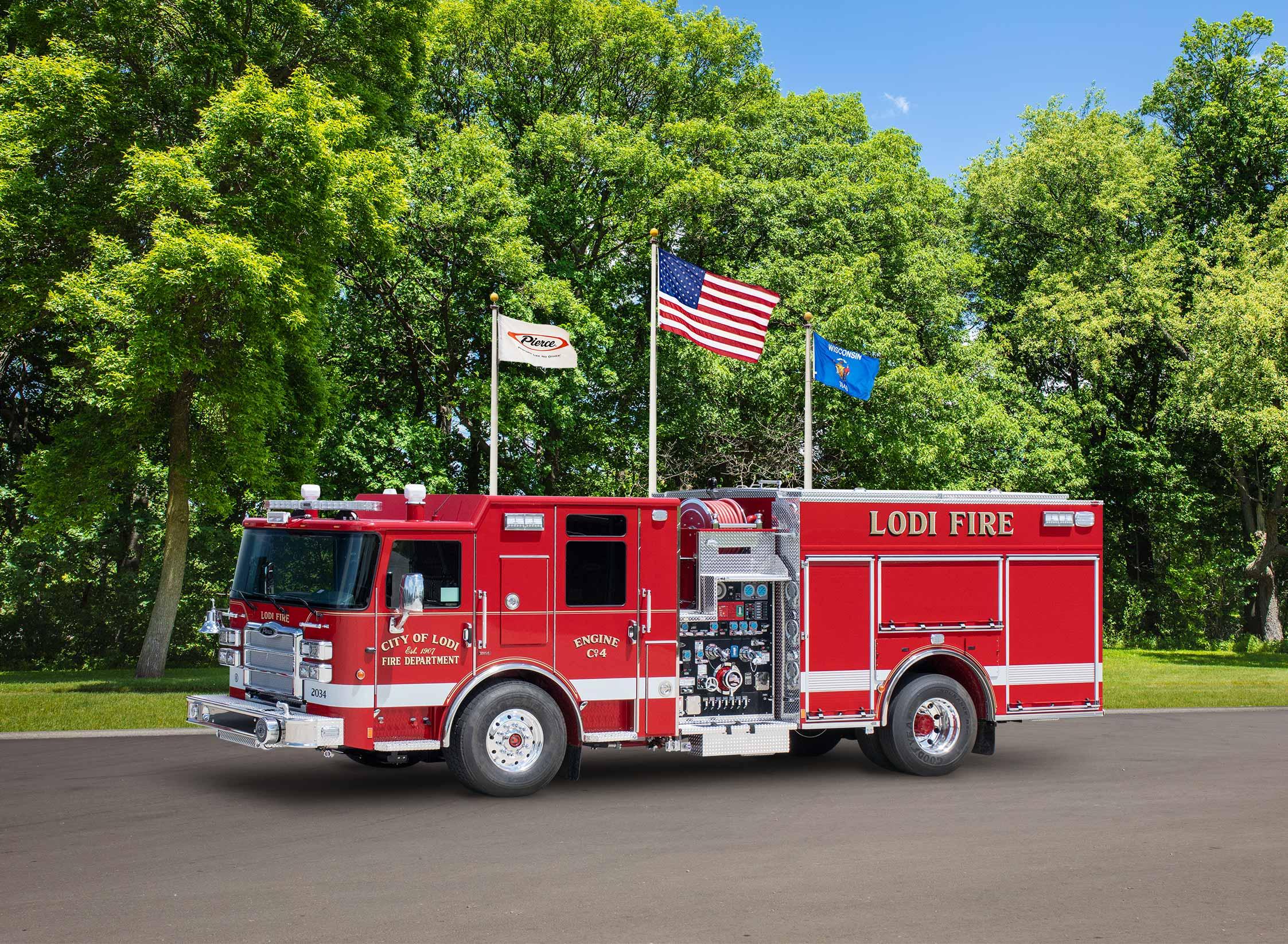 Lodi Fire Department - Pumper