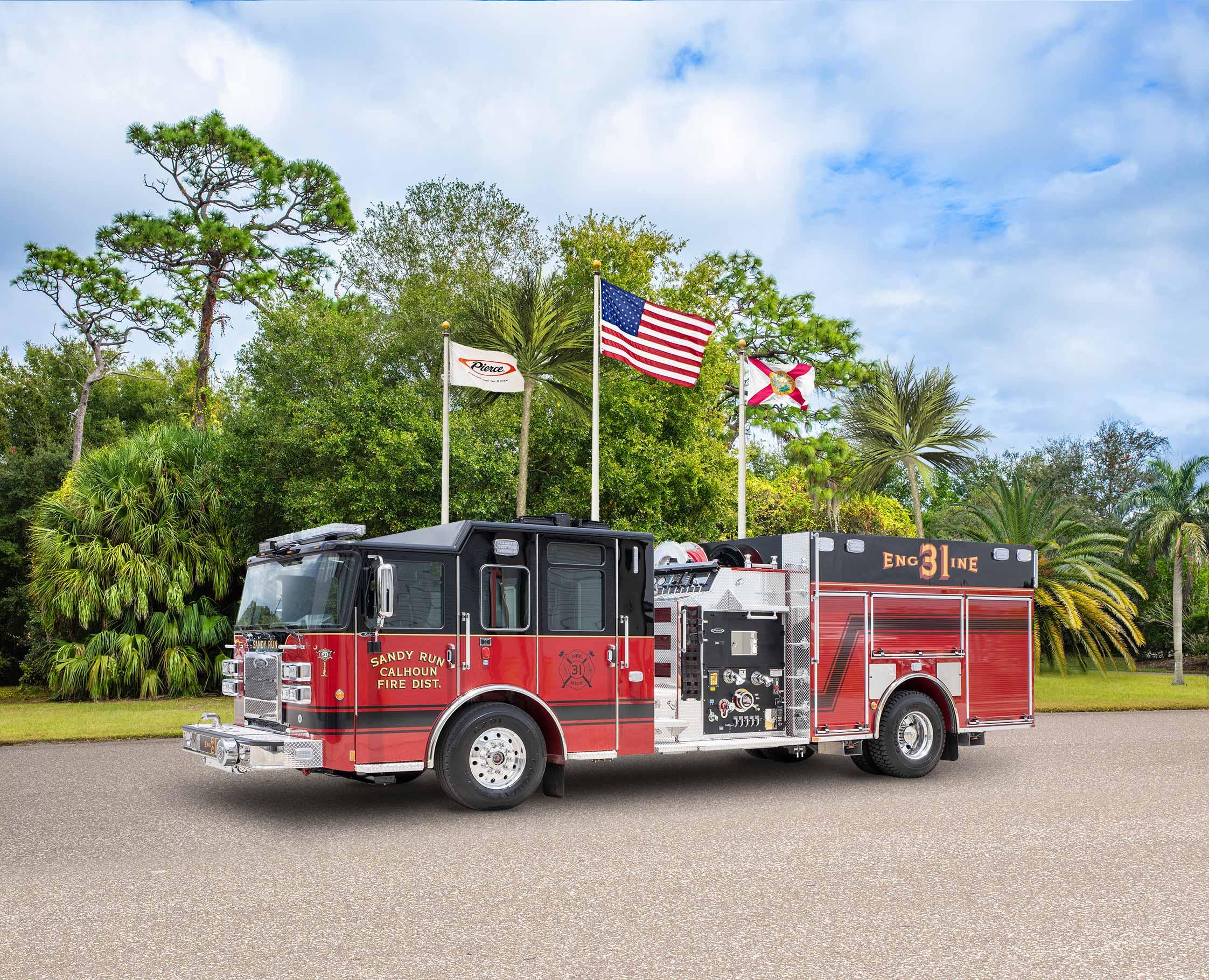 Sandy Run- Calhoun County Fire District - Pumper