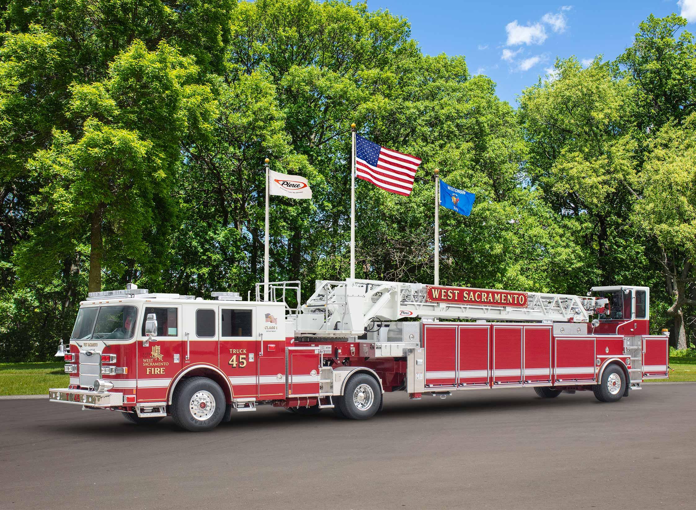 West Sacramento Fire Department - Aerial