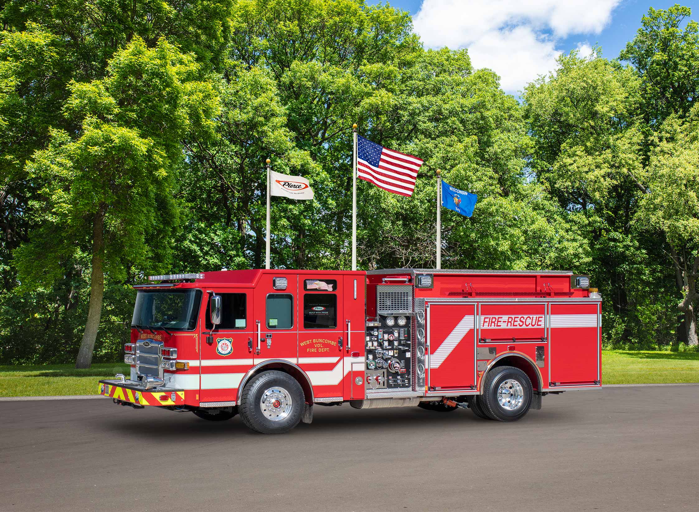 West Buncombe Fire Department - Pumper