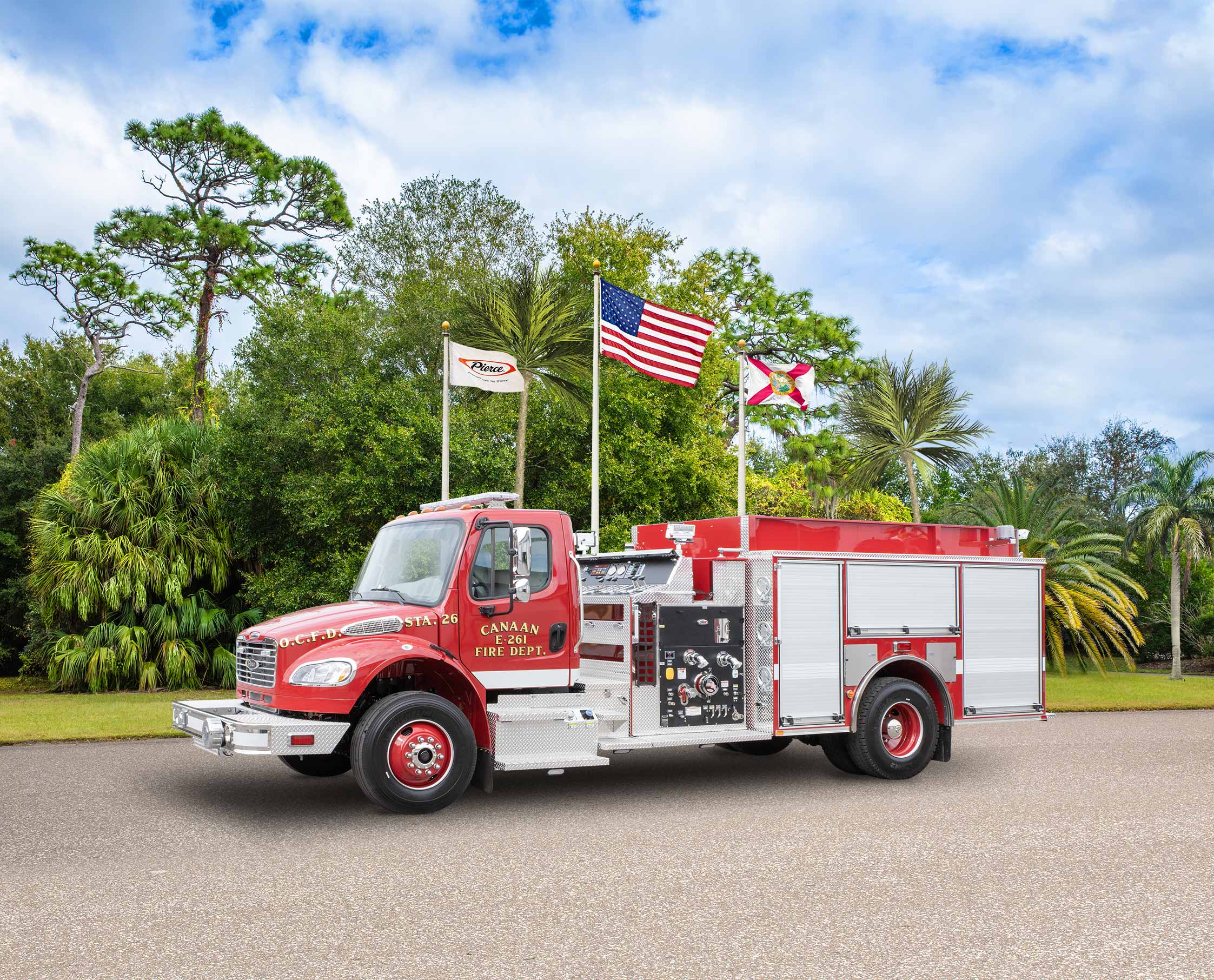 Canaan Fire Department - Pumper