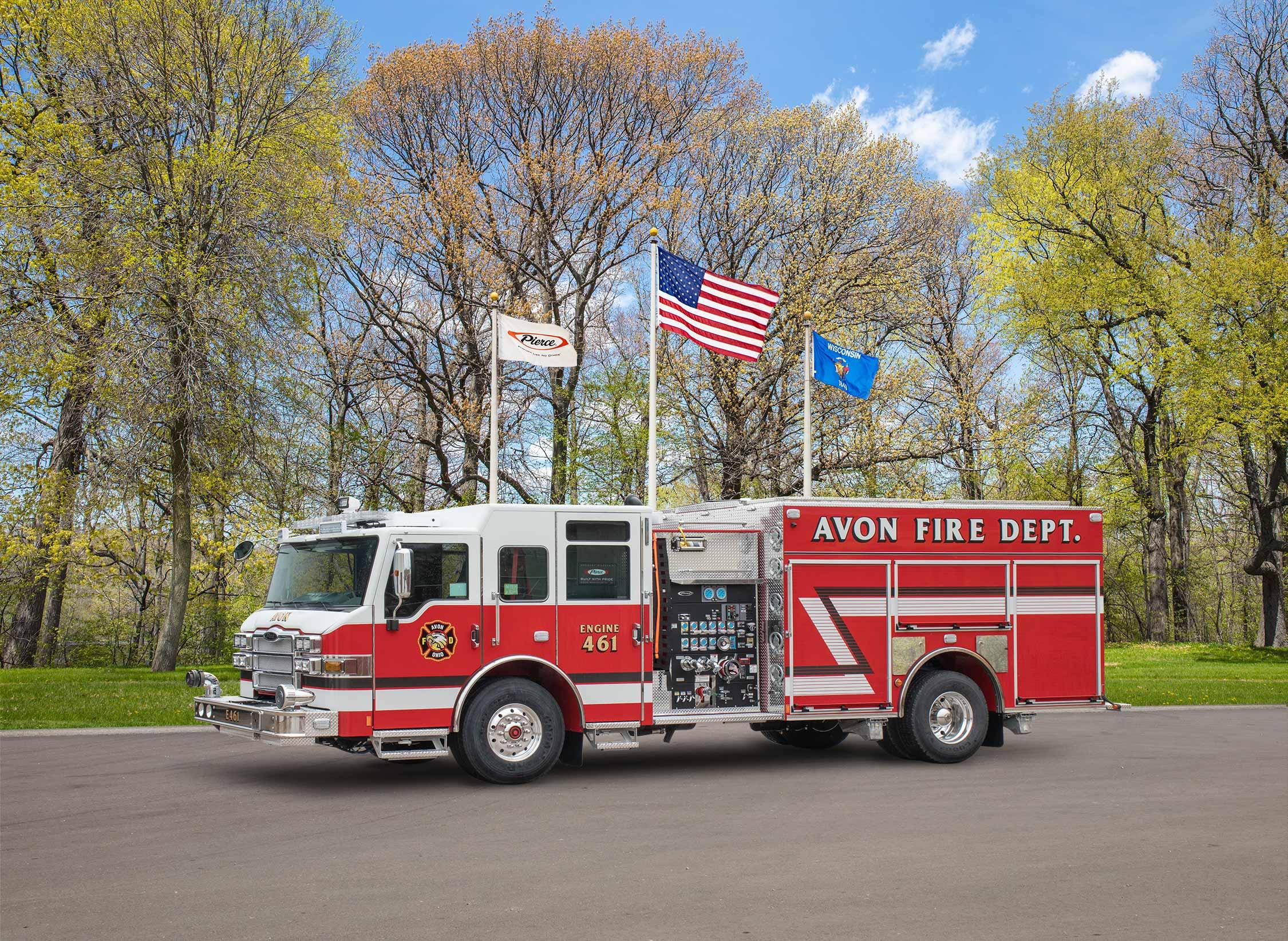 Avon City Fire Department - Pumper