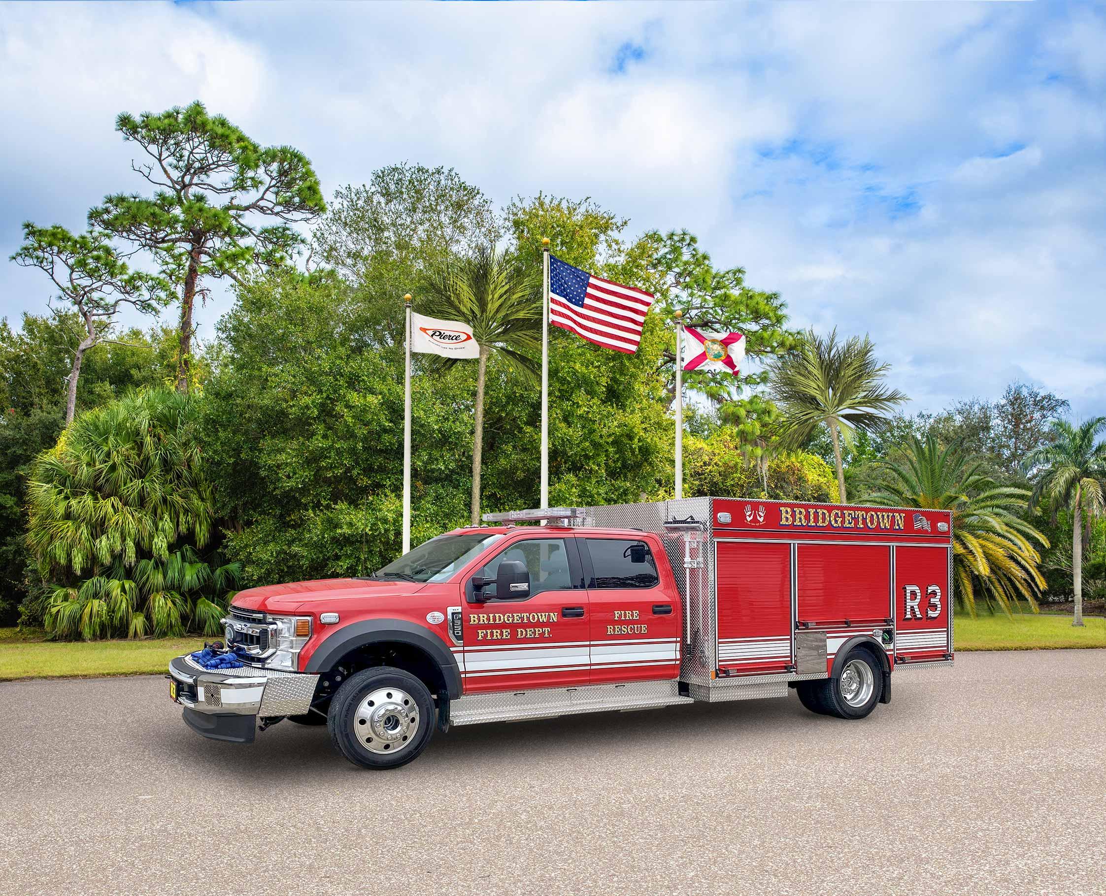 Bridgetown Fire Department - Pumper