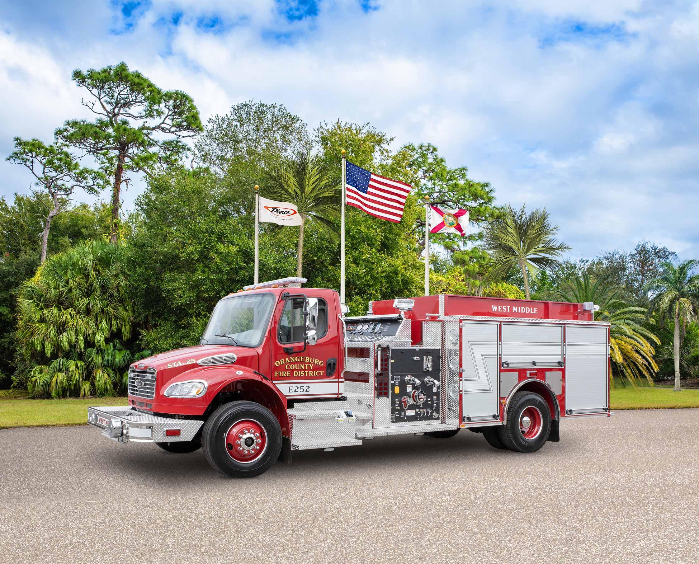 Orangeburg County Fire District - Pumper