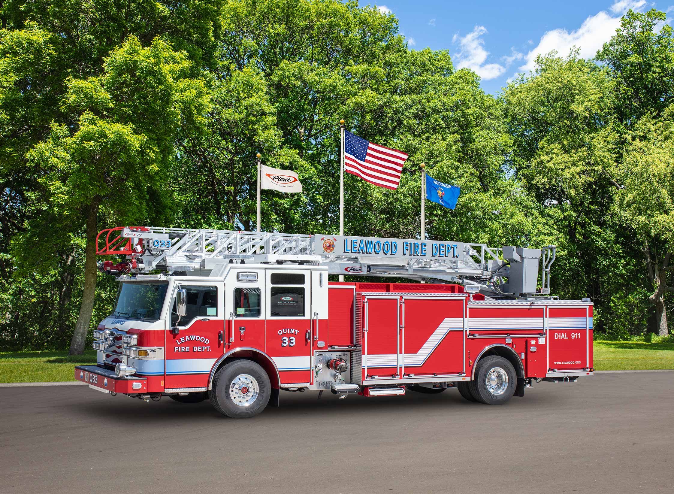 Leawood Fire Department - Aerial
