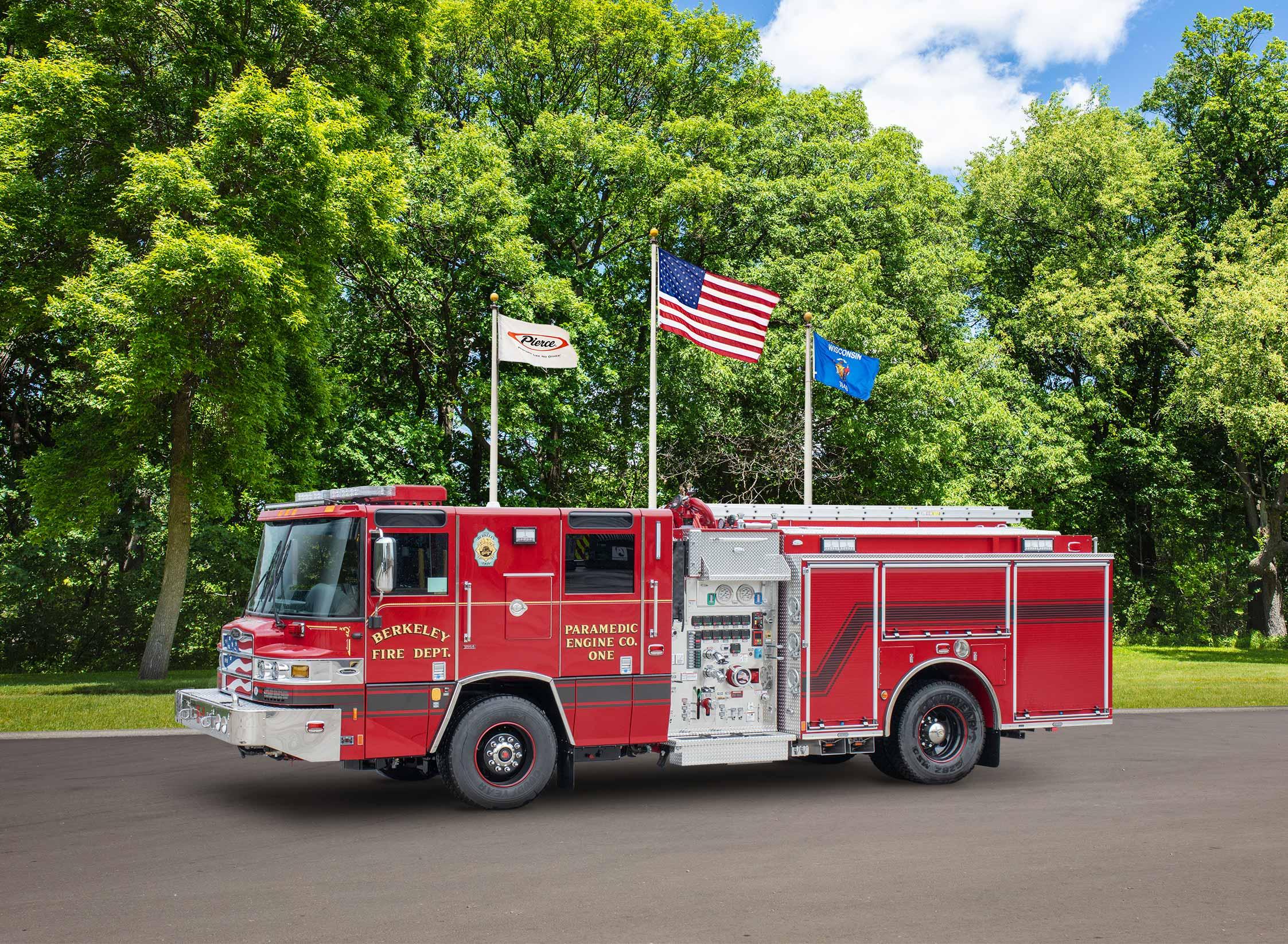Berkeley Fire Department - Pumper